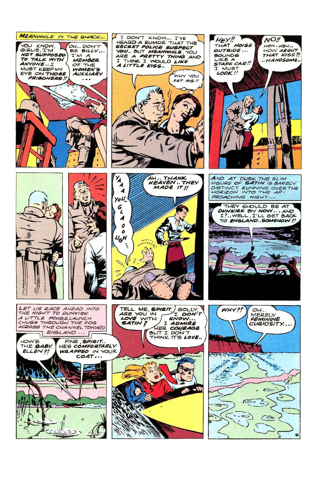 Read online Will Eisner's The Spirit Archives comic -  Issue # TPB 3 (Part 1) - 9