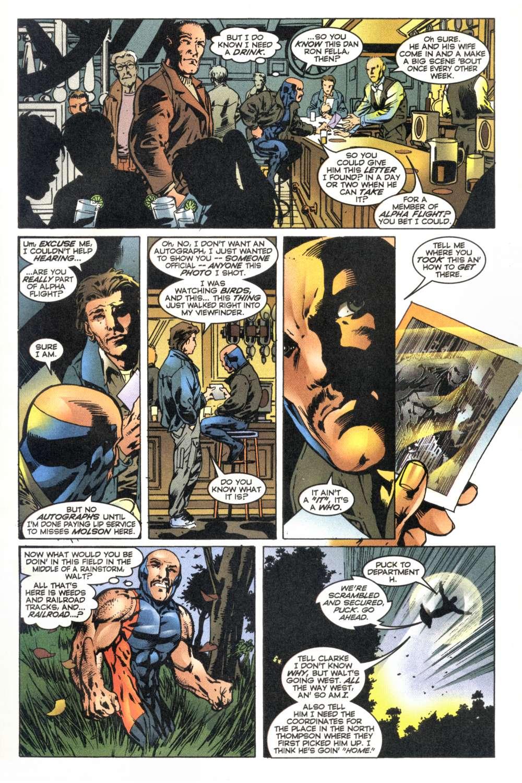 Read online Alpha Flight (1997) comic -  Issue #6 - 20
