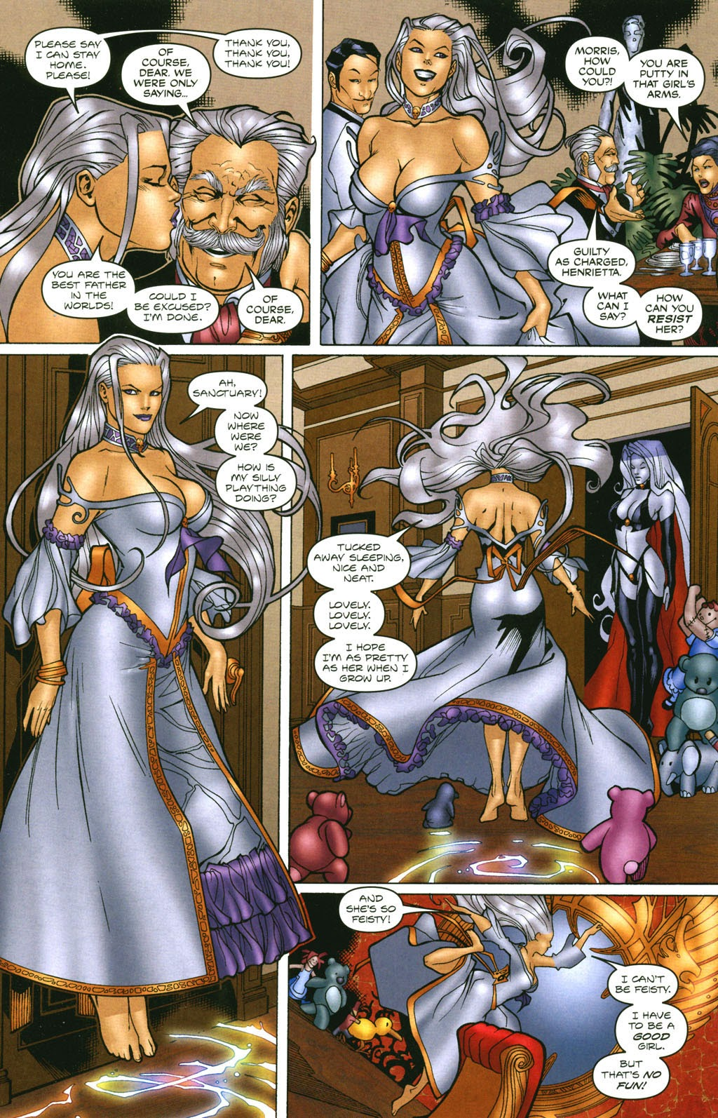 Read online Lady Death: The Wicked comic -  Issue #1 - 17
