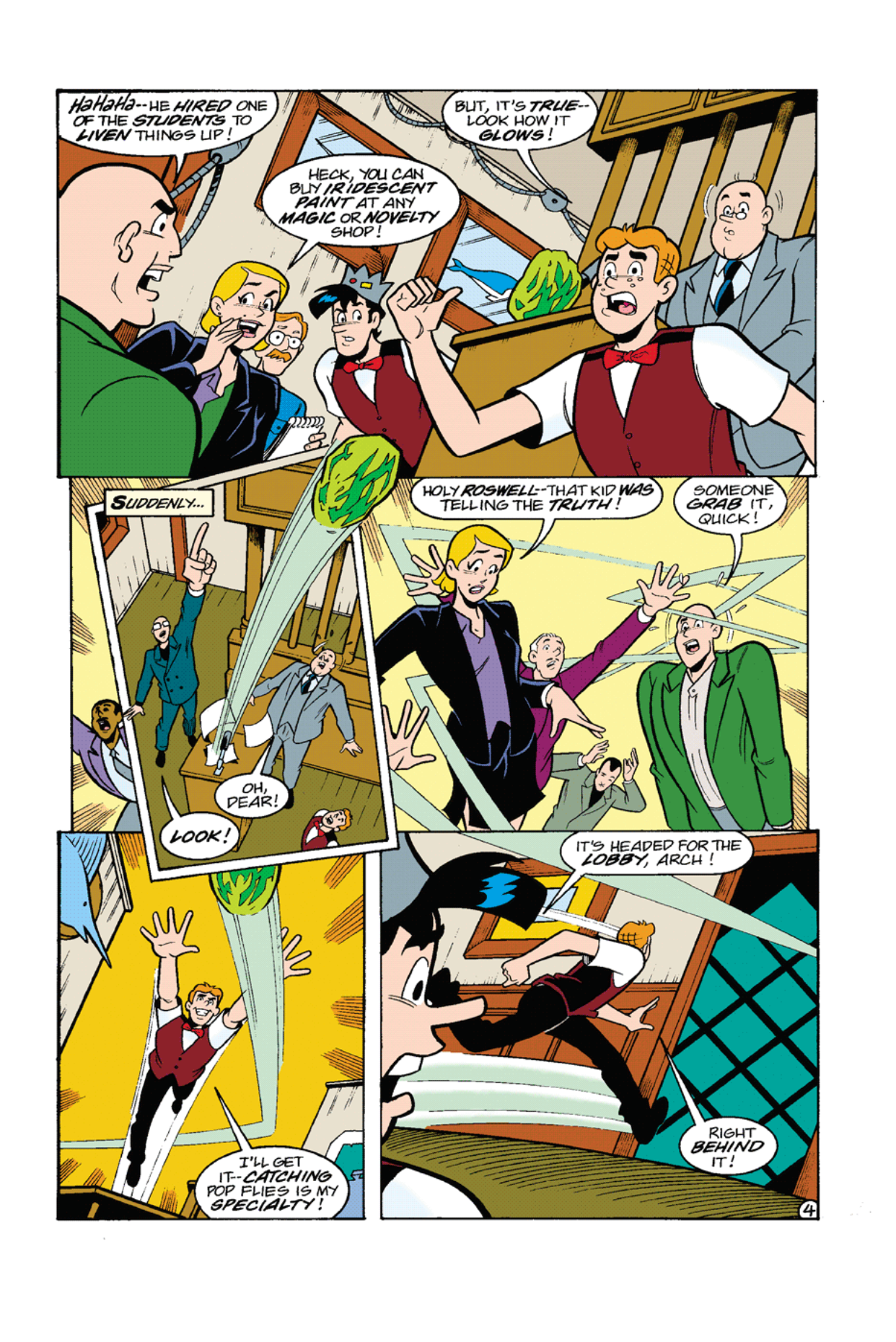 Read online Archie's Weird Mysteries comic -  Issue #8 - 6