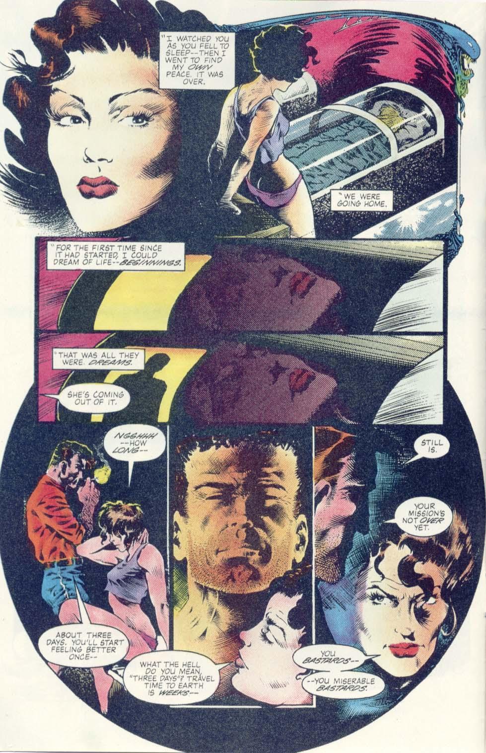 Read online Aliens: Earth War comic -  Issue #1 - 8