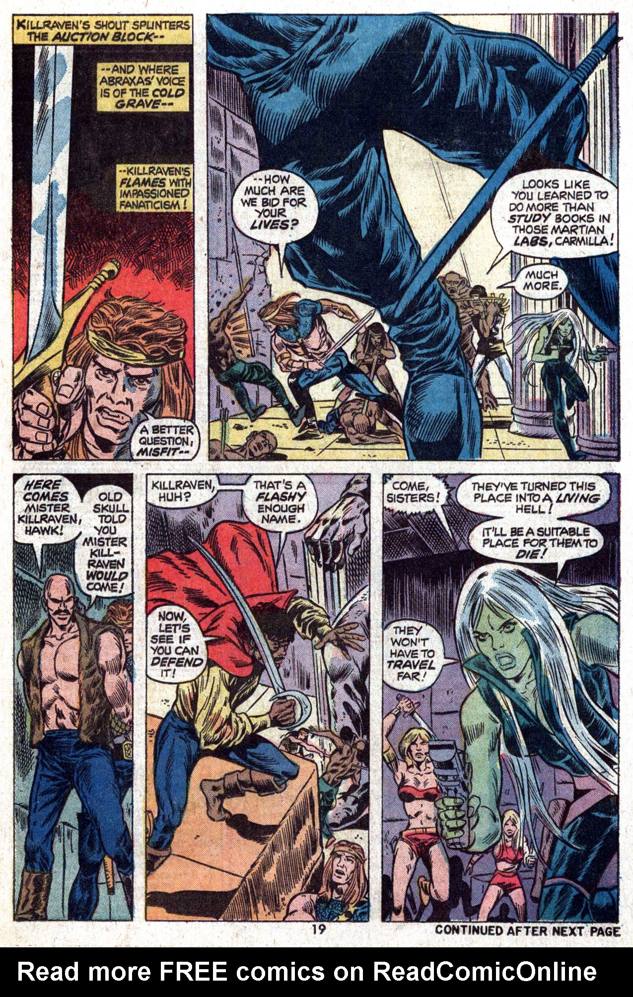 Read online Amazing Adventures (1970) comic -  Issue #22 - 19