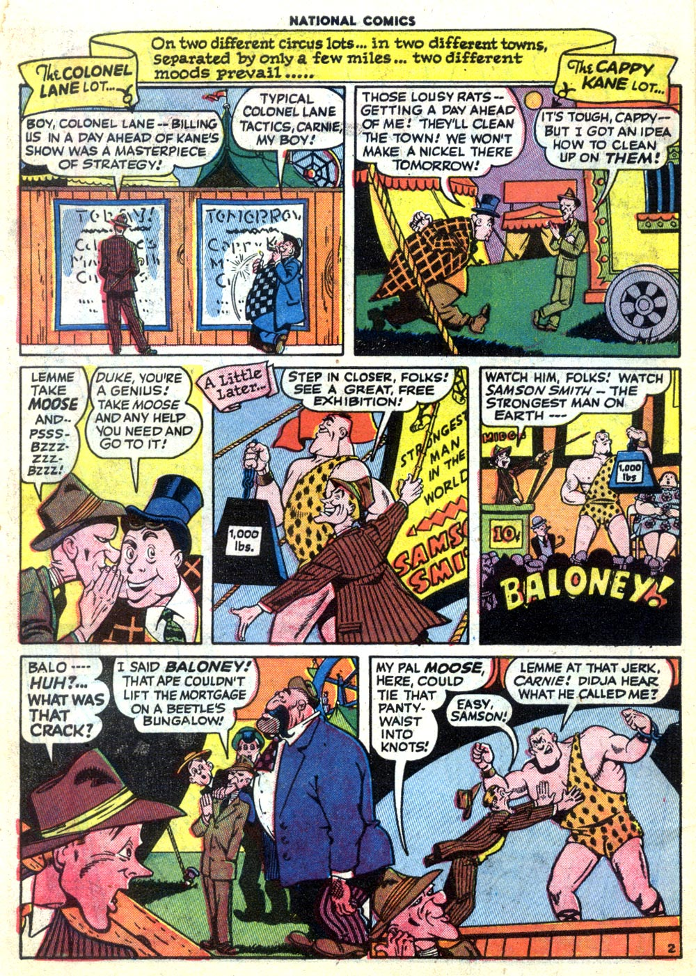 National Comics (1940) issue 47 - Page 4