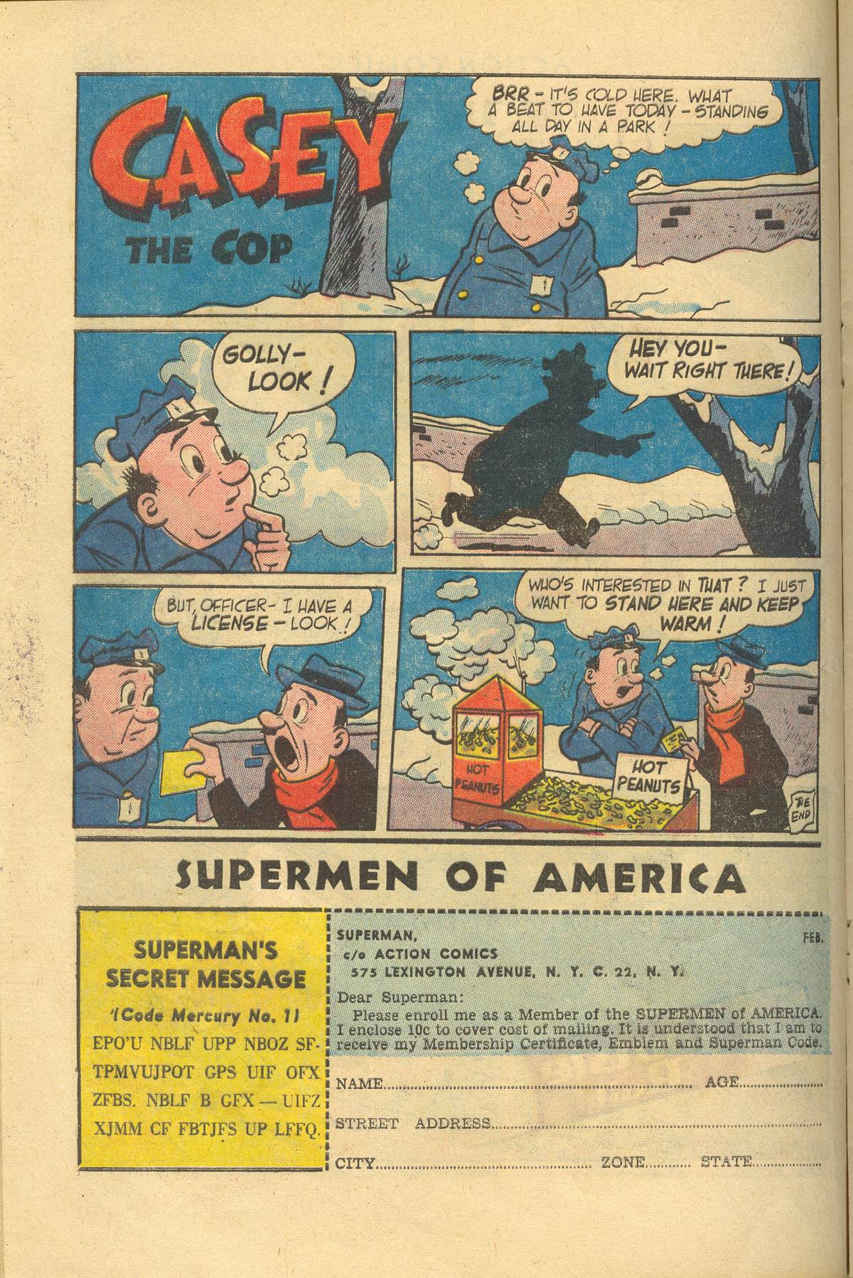 Read online Action Comics (1938) comic -  Issue #249 - 16