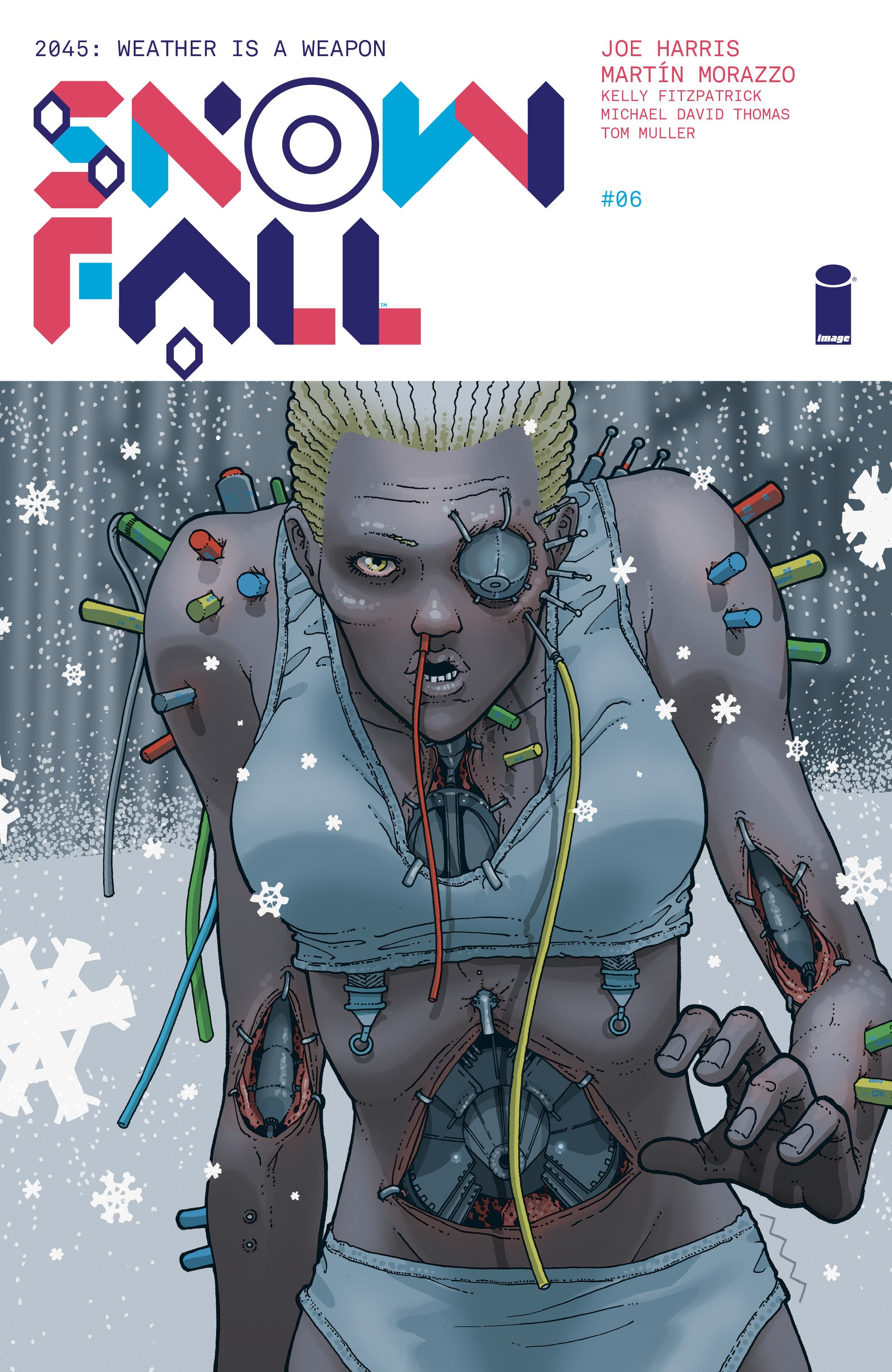 Read online Snowfall comic -  Issue #6 - 1
