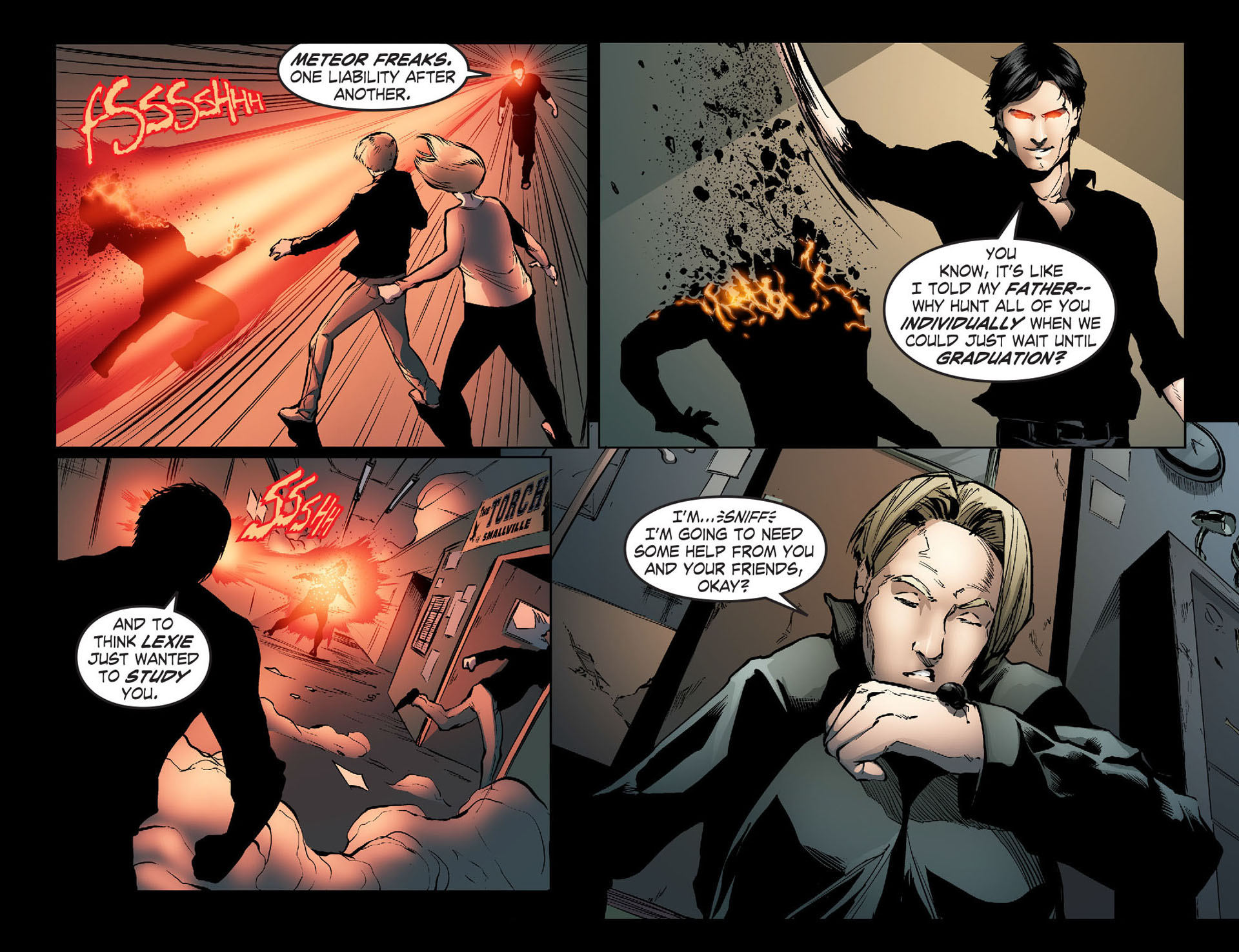 Read online Smallville: Season 11 comic -  Issue #33 - 13