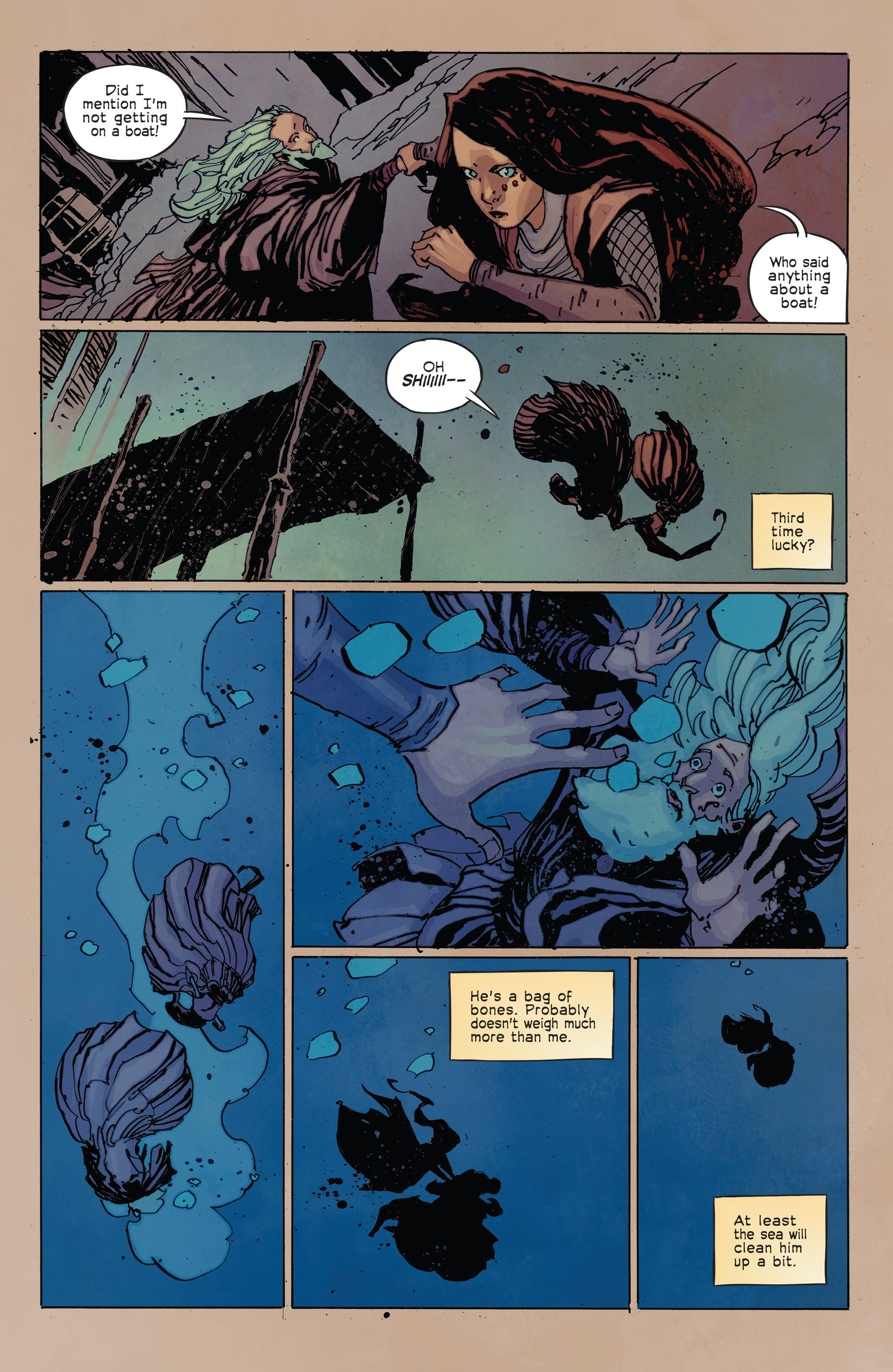 Read online Umbral comic -  Issue #2 - 22