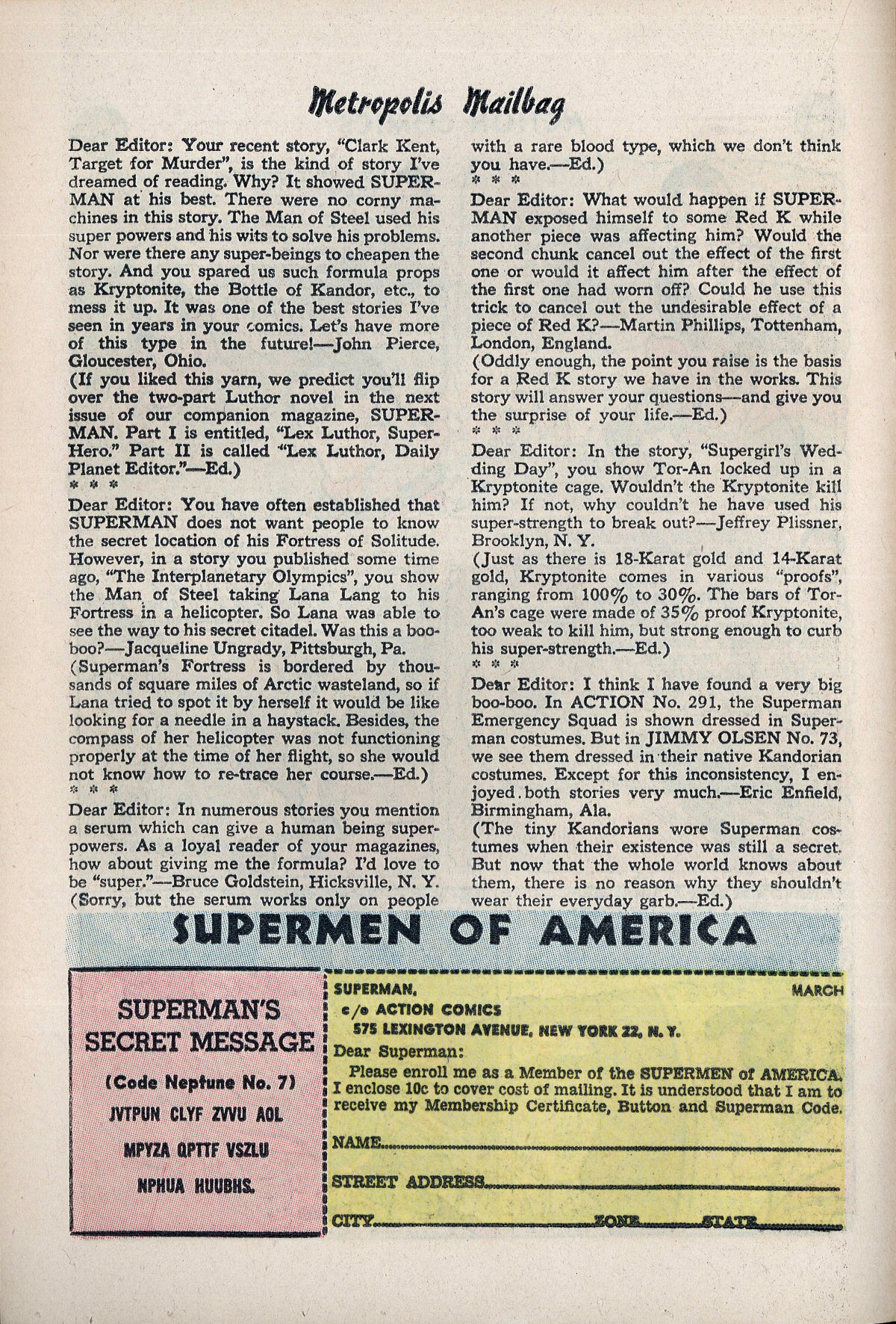 Read online Action Comics (1938) comic -  Issue #310 - 16
