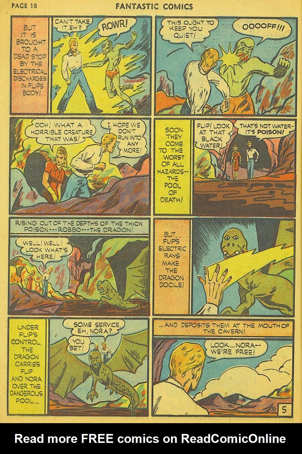 Read online Fantastic Comics comic -  Issue #15 - 11
