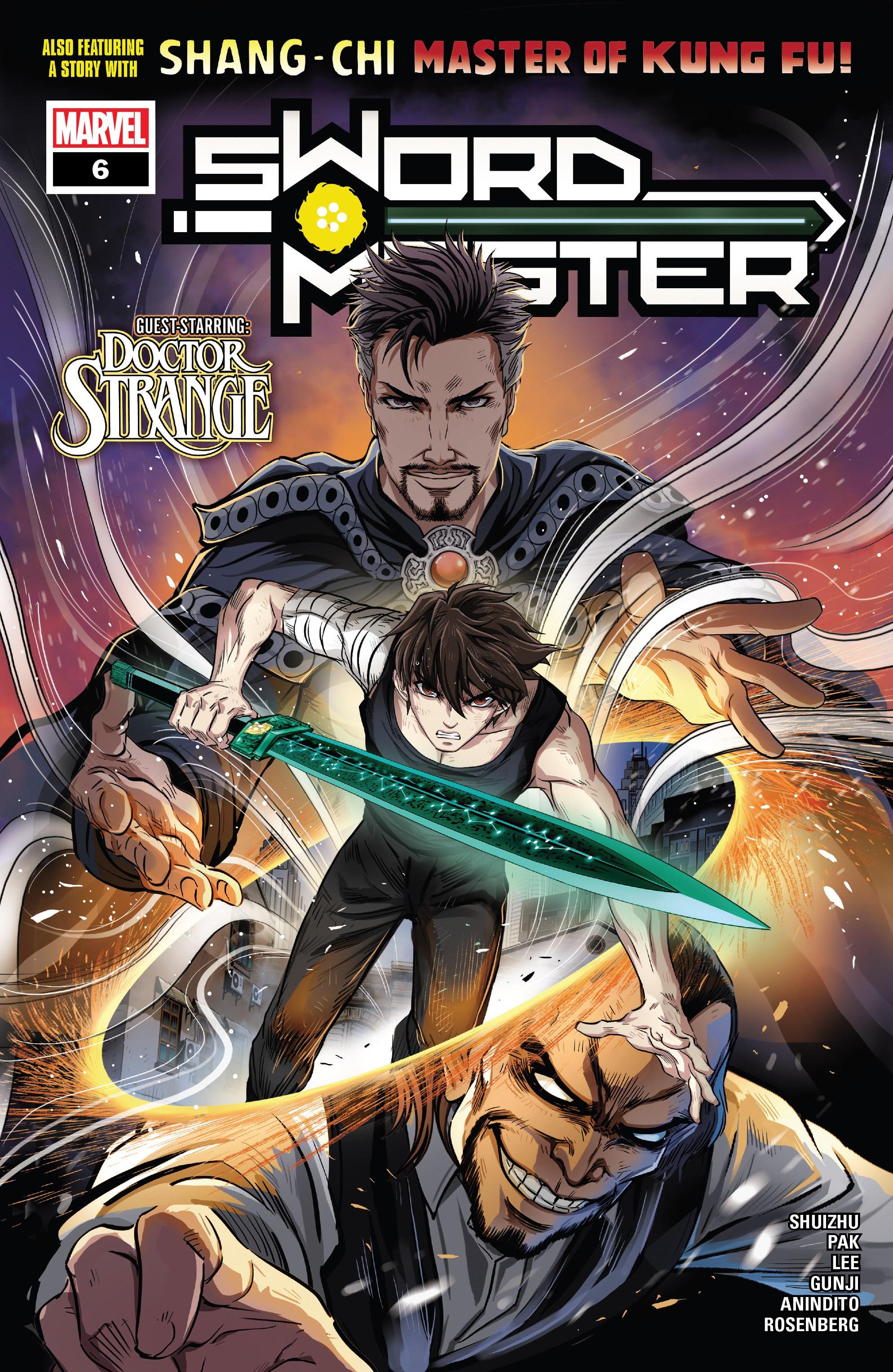 Sword Master 6 Page 1
