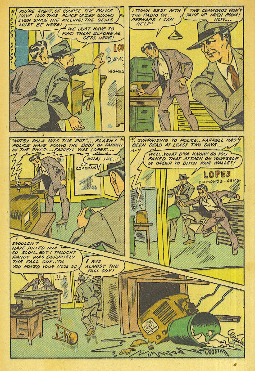 Read online Shadow Comics comic -  Issue #63 - 19