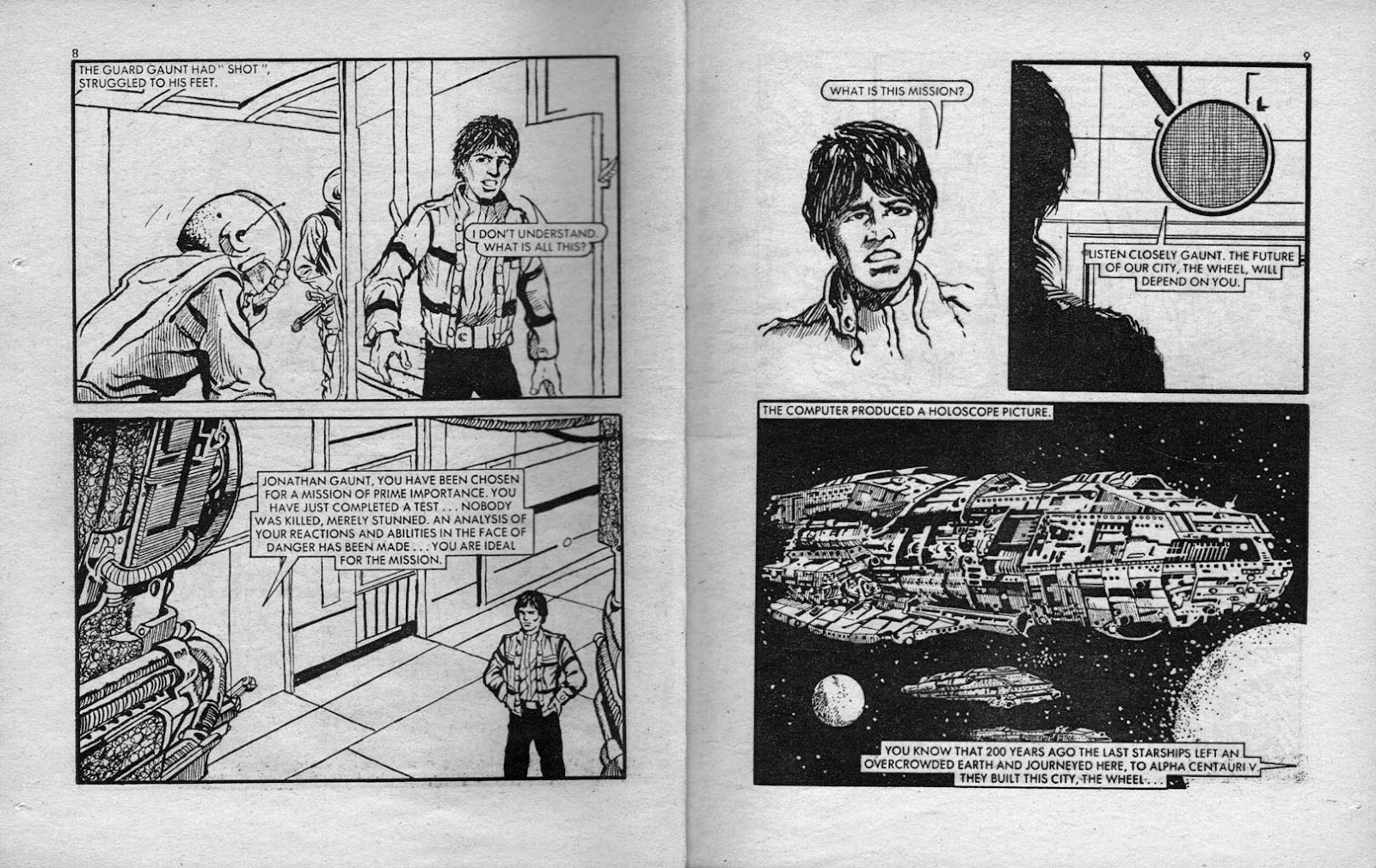 Starblazer issue 28 - Page 5