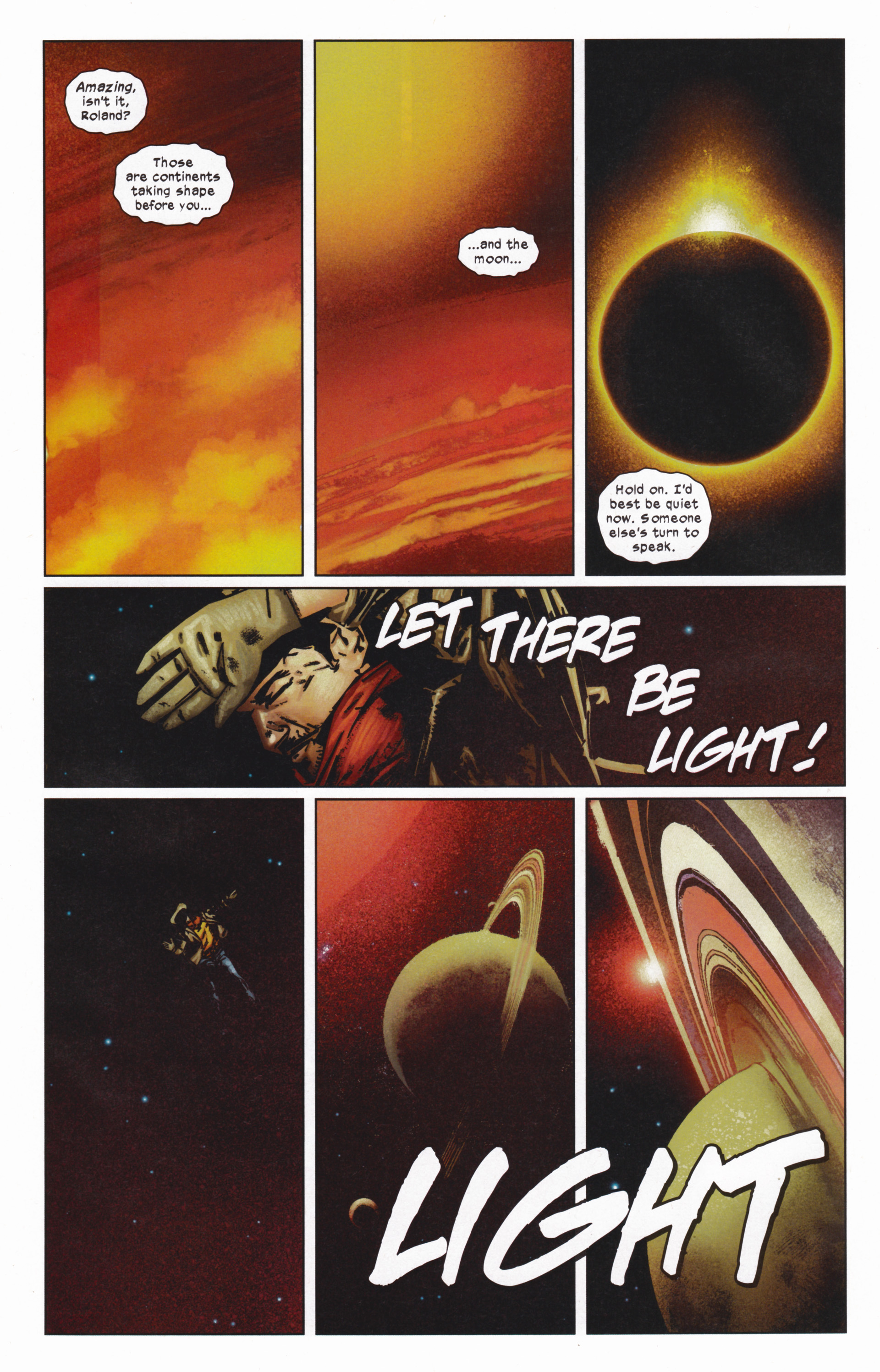 Read online Dark Tower: The Gunslinger - The Man in Black comic -  Issue #5 - 13