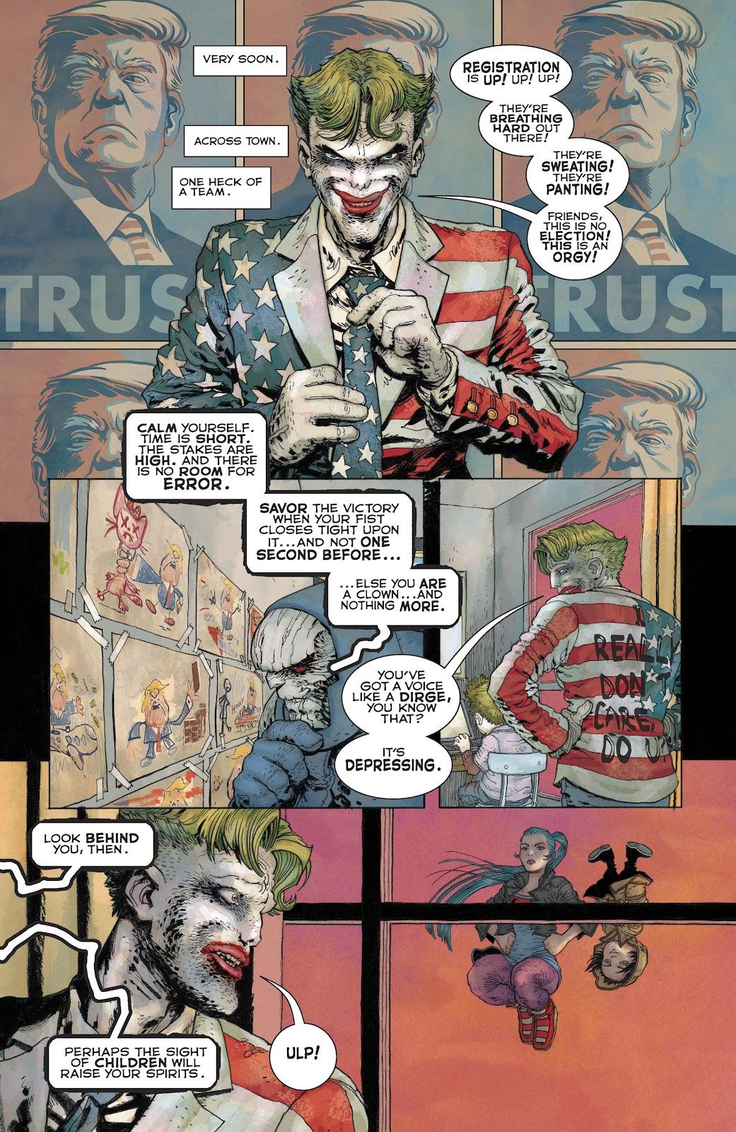 Dark Knight Returns: The Golden Child issue Full - Page 18