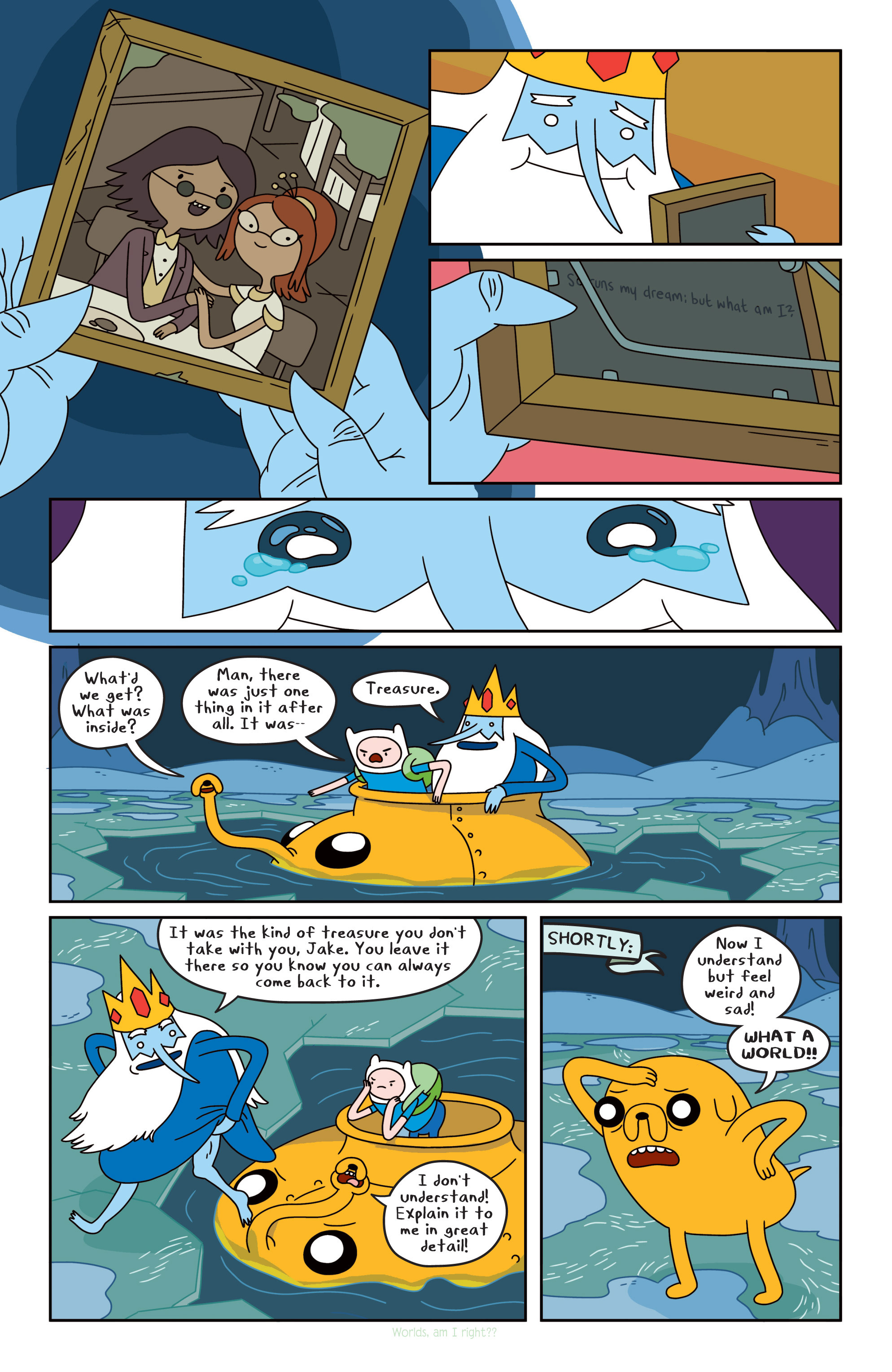 Read online Adventure Time comic -  Issue #17 - 13