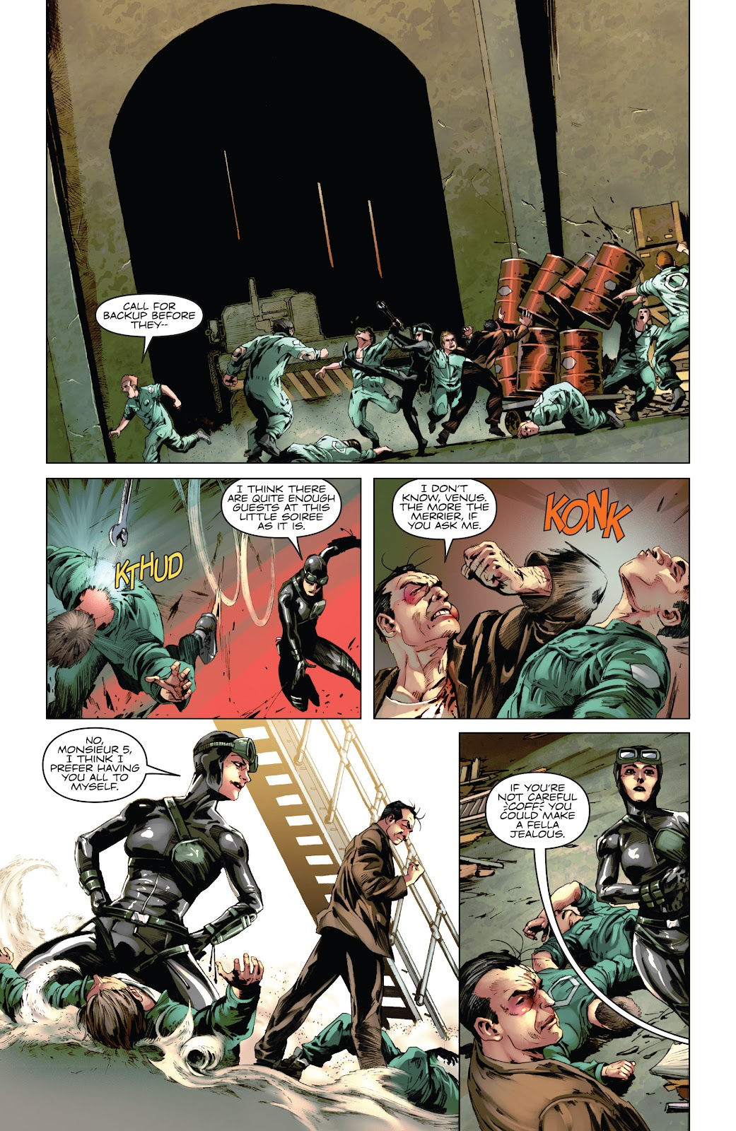 Read online Codename: Action comic -  Issue #5 - 9
