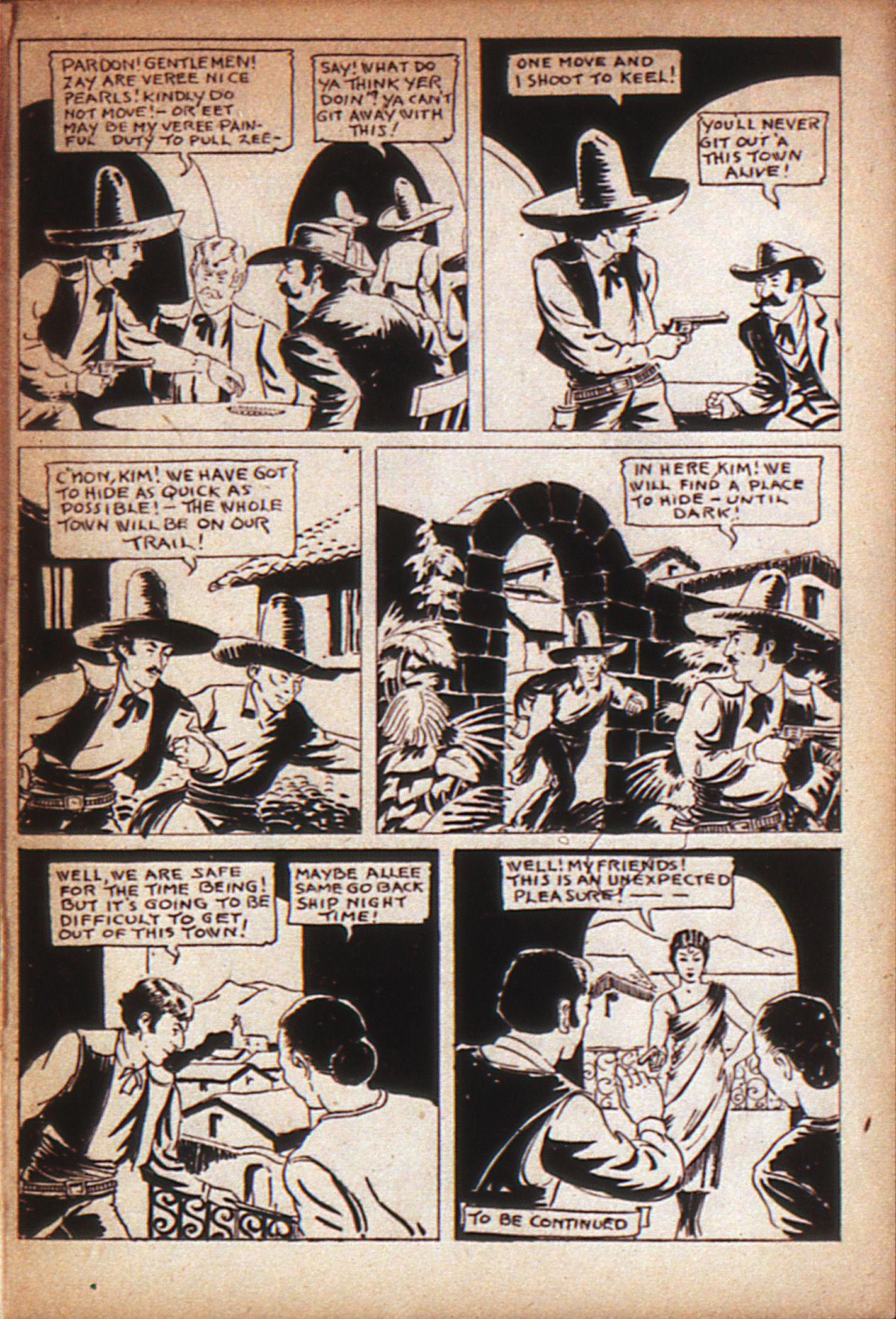 Read online Adventure Comics (1938) comic -  Issue #7 - 39
