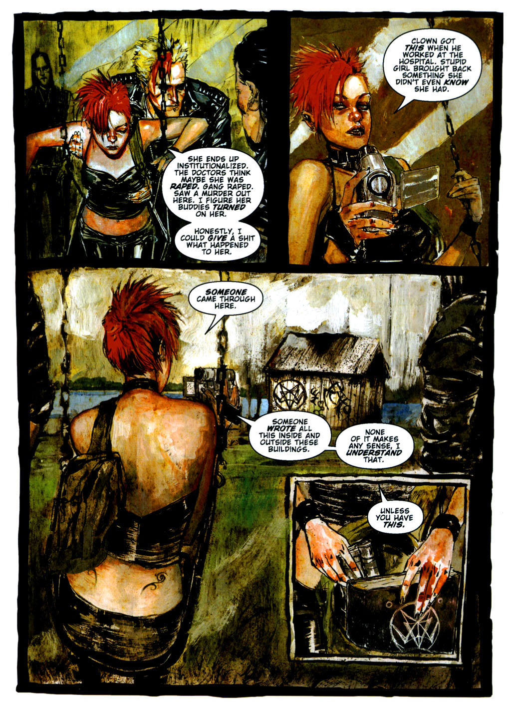 Read online Silent Hill: Dying Inside comic -  Issue #3 - 9