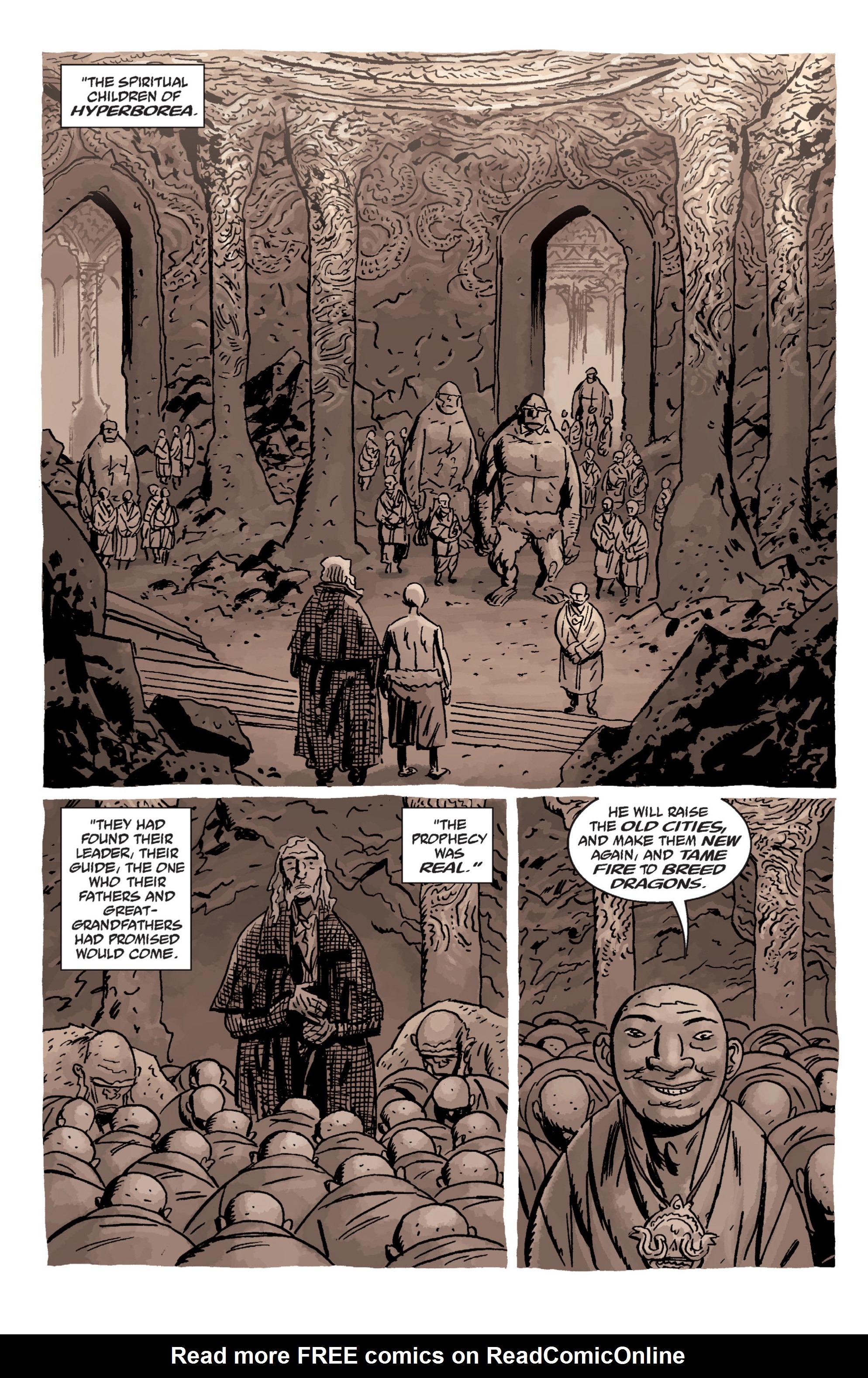 Read online B.P.R.D. (2003) comic -  Issue # TPB 11 - 74