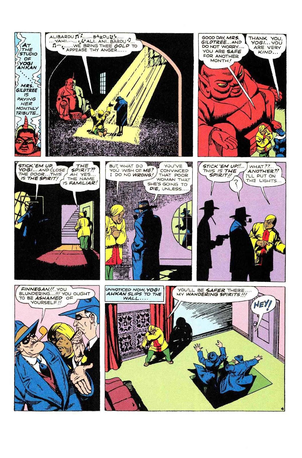 Read online Will Eisner's The Spirit Archives comic -  Issue # TPB 2 (Part 1) - 44