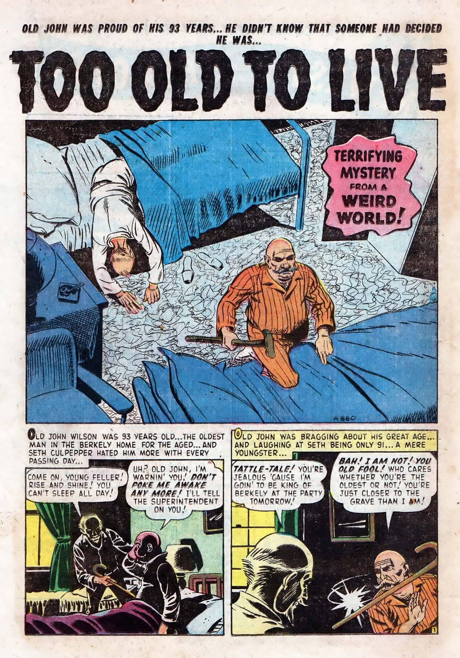Read online Adventures into Weird Worlds comic -  Issue #10 - 17