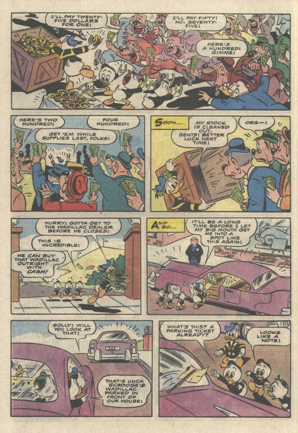 Read online Uncle Scrooge (1953) comic -  Issue #237 - 32