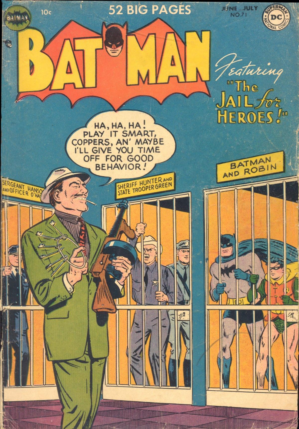 Batman (1940) 71 Page 1