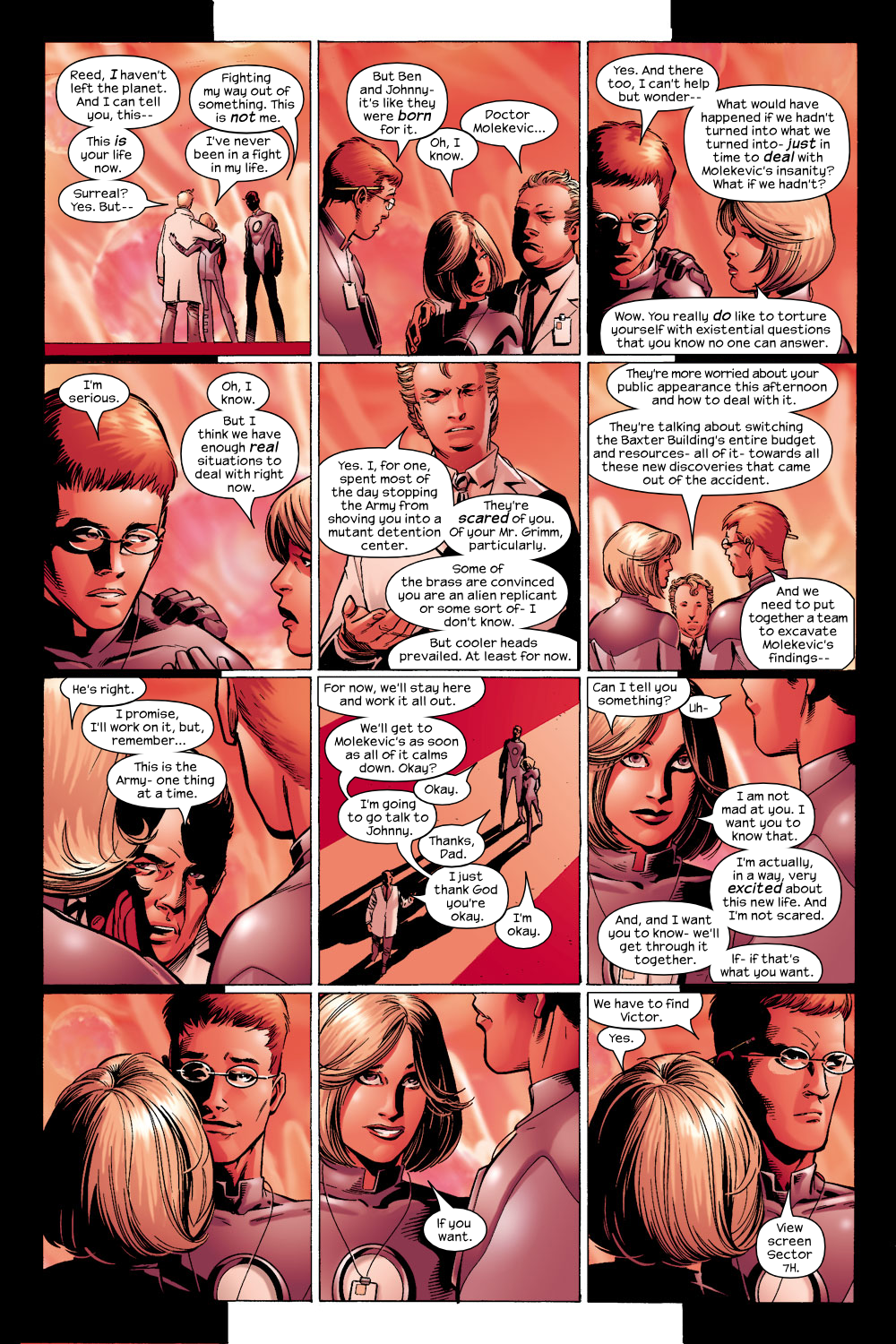 Read online Ultimate Fantastic Four (2004) comic -  Issue #6 - 15
