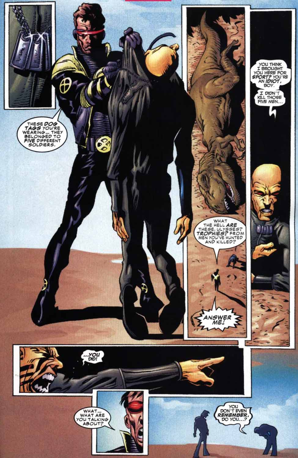 Read online Cyclops (2001) comic -  Issue #2 - 17