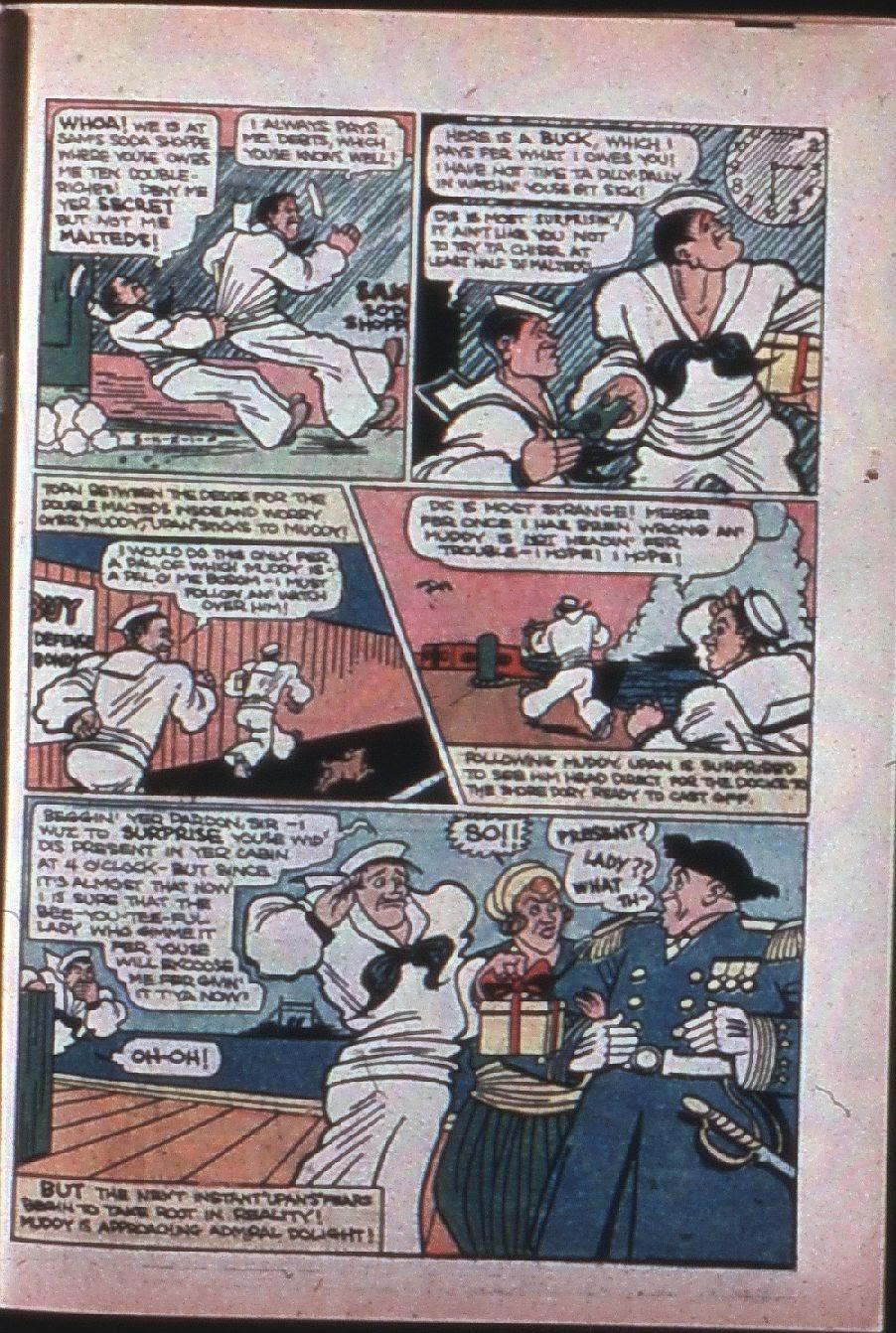 Read online Super-Magician Comics comic -  Issue #7 - 64