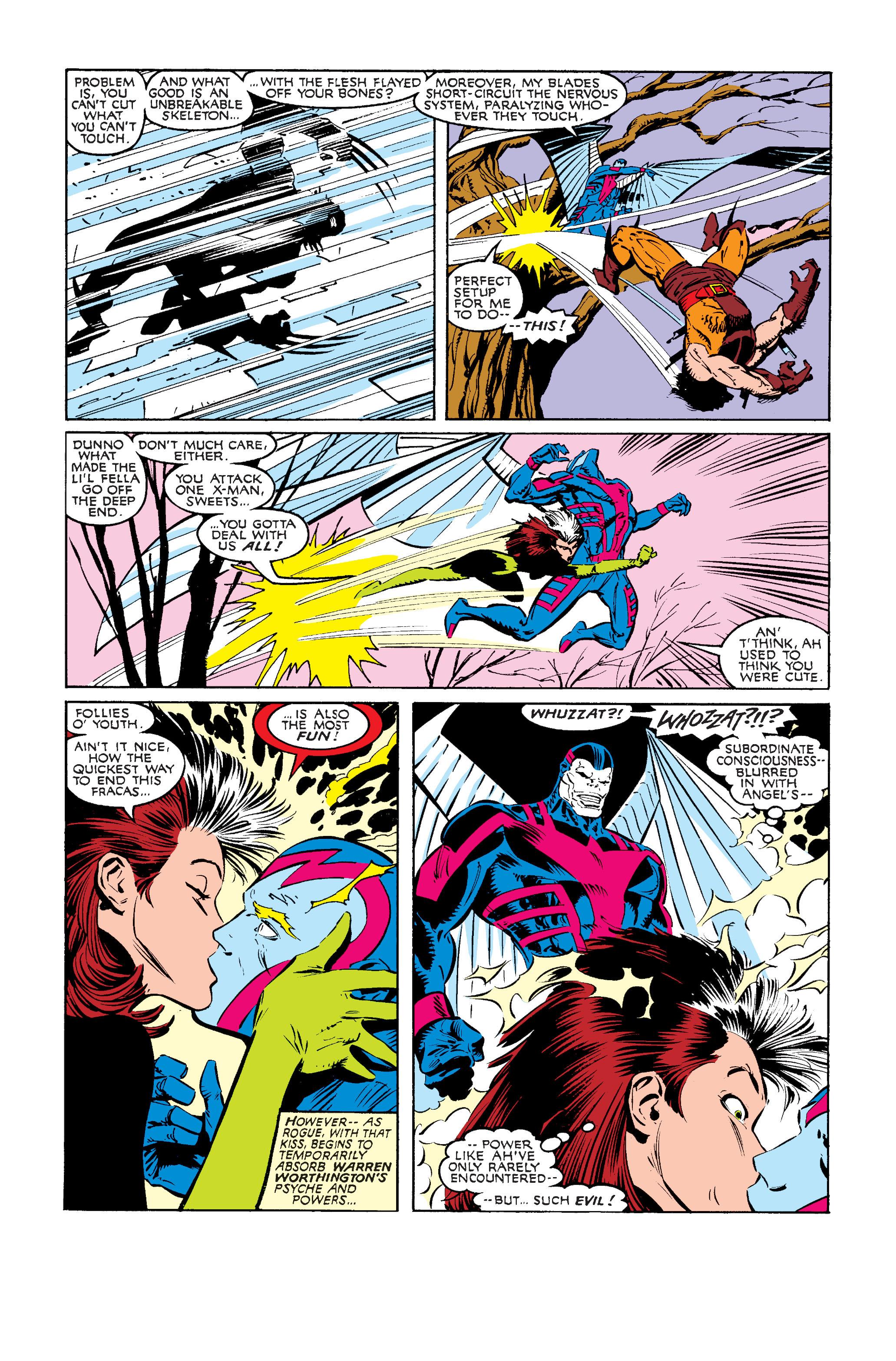 Read online Uncanny X-Men (1963) comic -  Issue #242 - 6