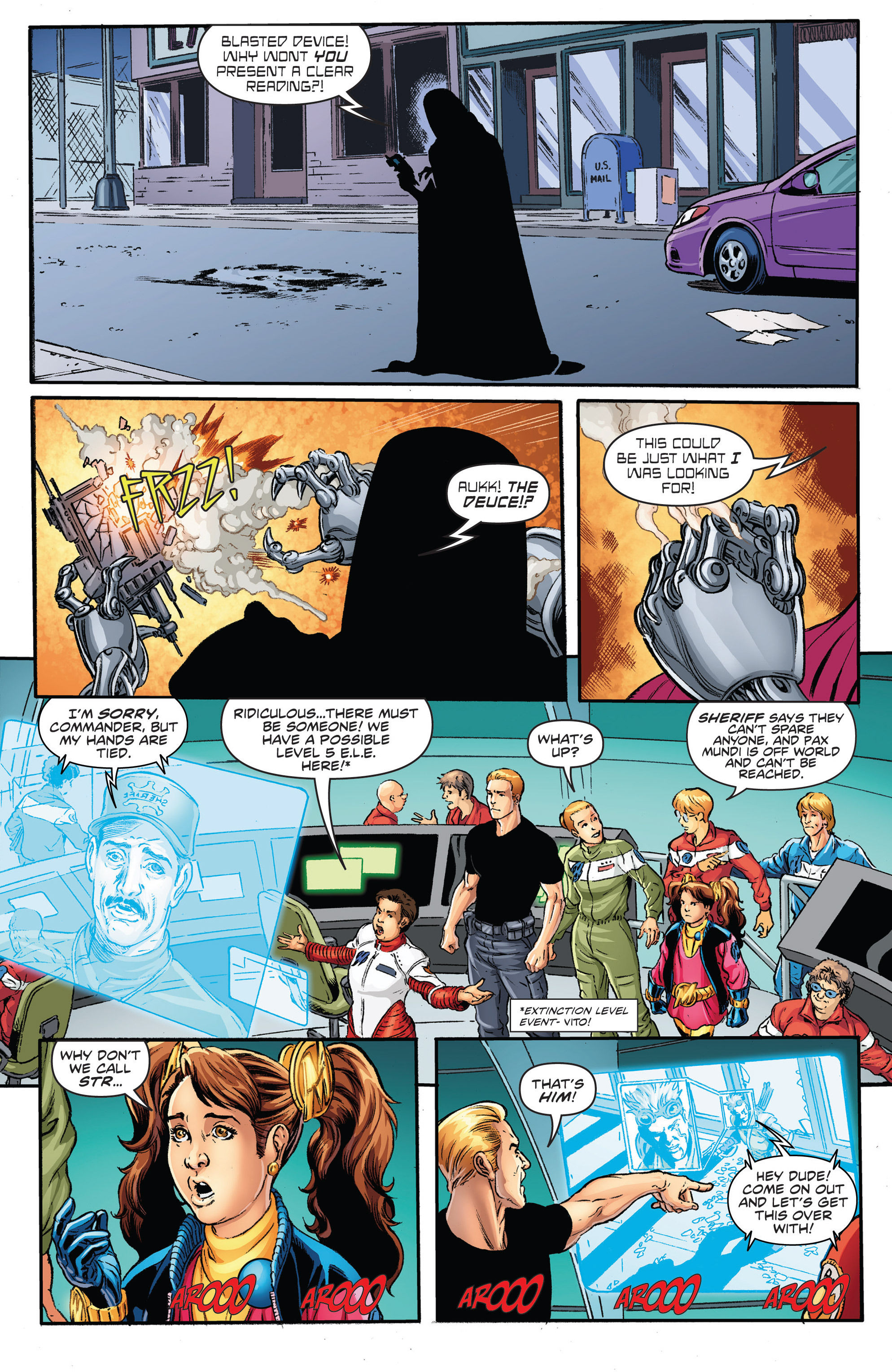 Read online Actionverse comic -  Issue #2 - 12