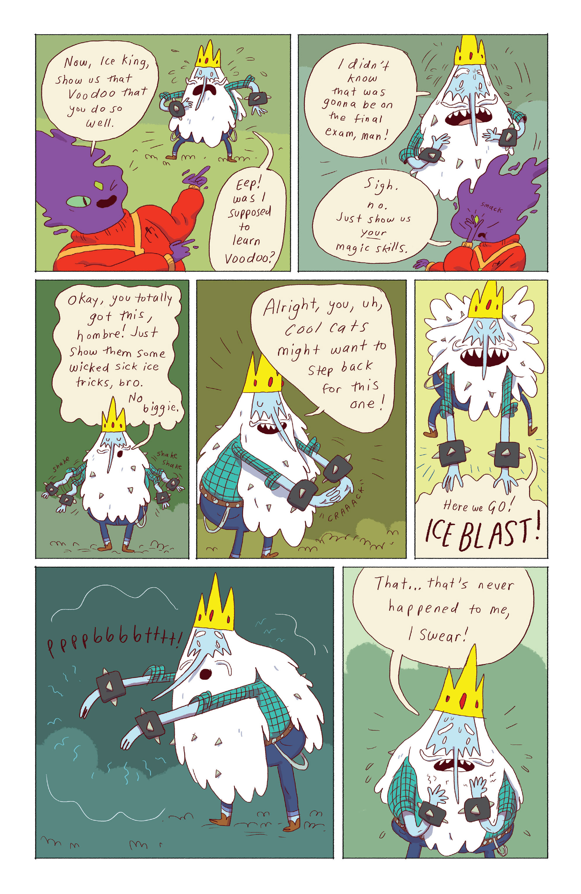 Read online Adventure Time: Ice King comic -  Issue #3 - 9