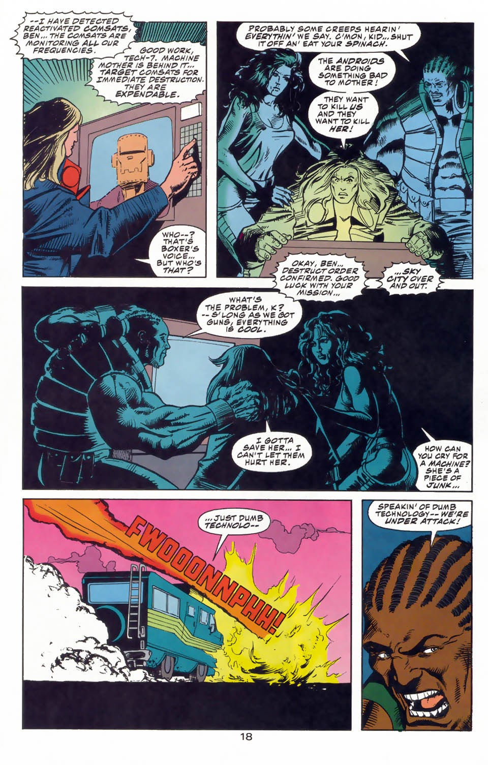 Read online Kamandi: At Earth's End comic -  Issue #3 - 20
