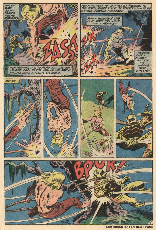 Read online Astonishing Tales (1970) comic -  Issue #13 - 16