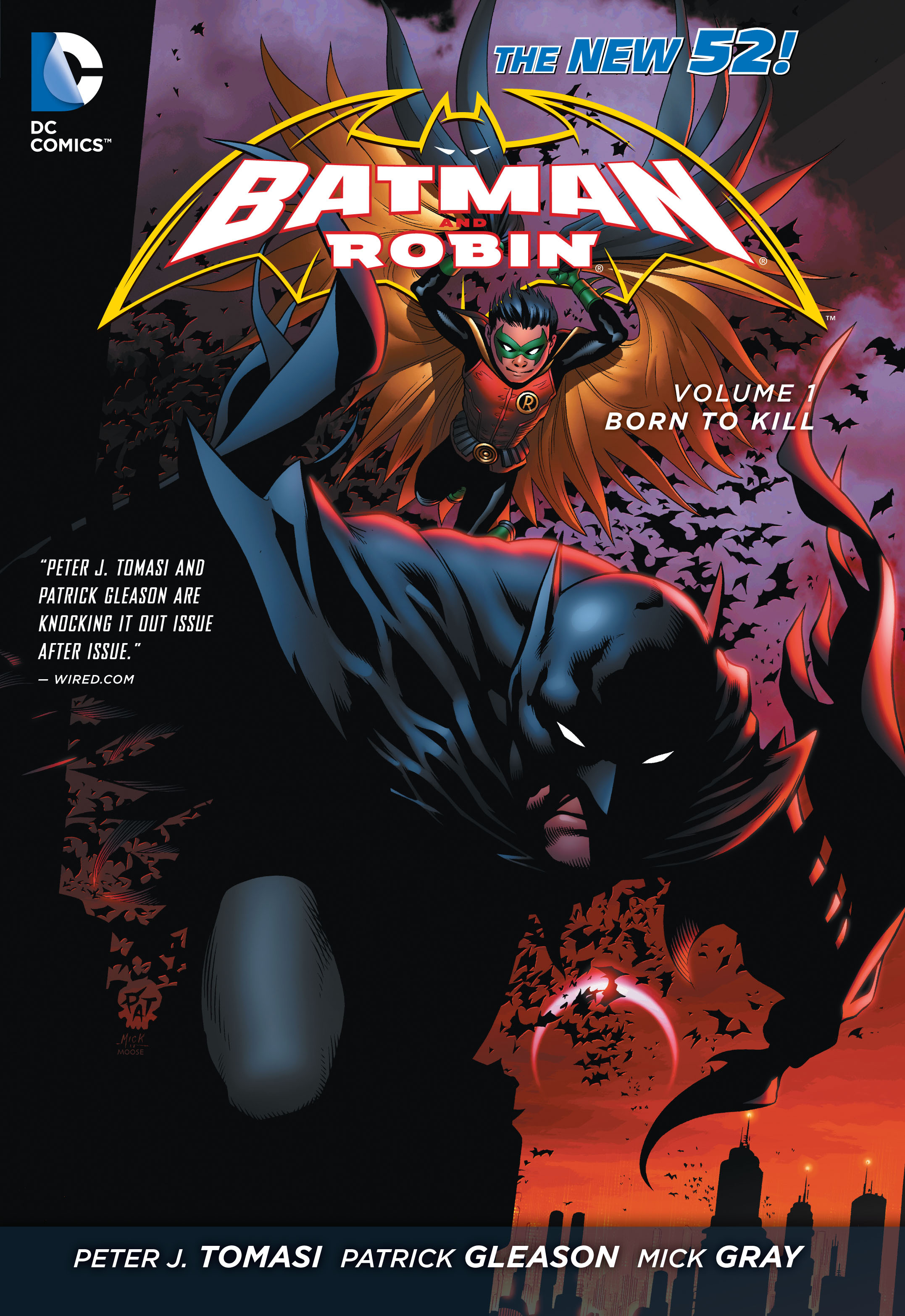 Read online Batman and Robin (2011) comic -  Issue # TPB 1 - 1
