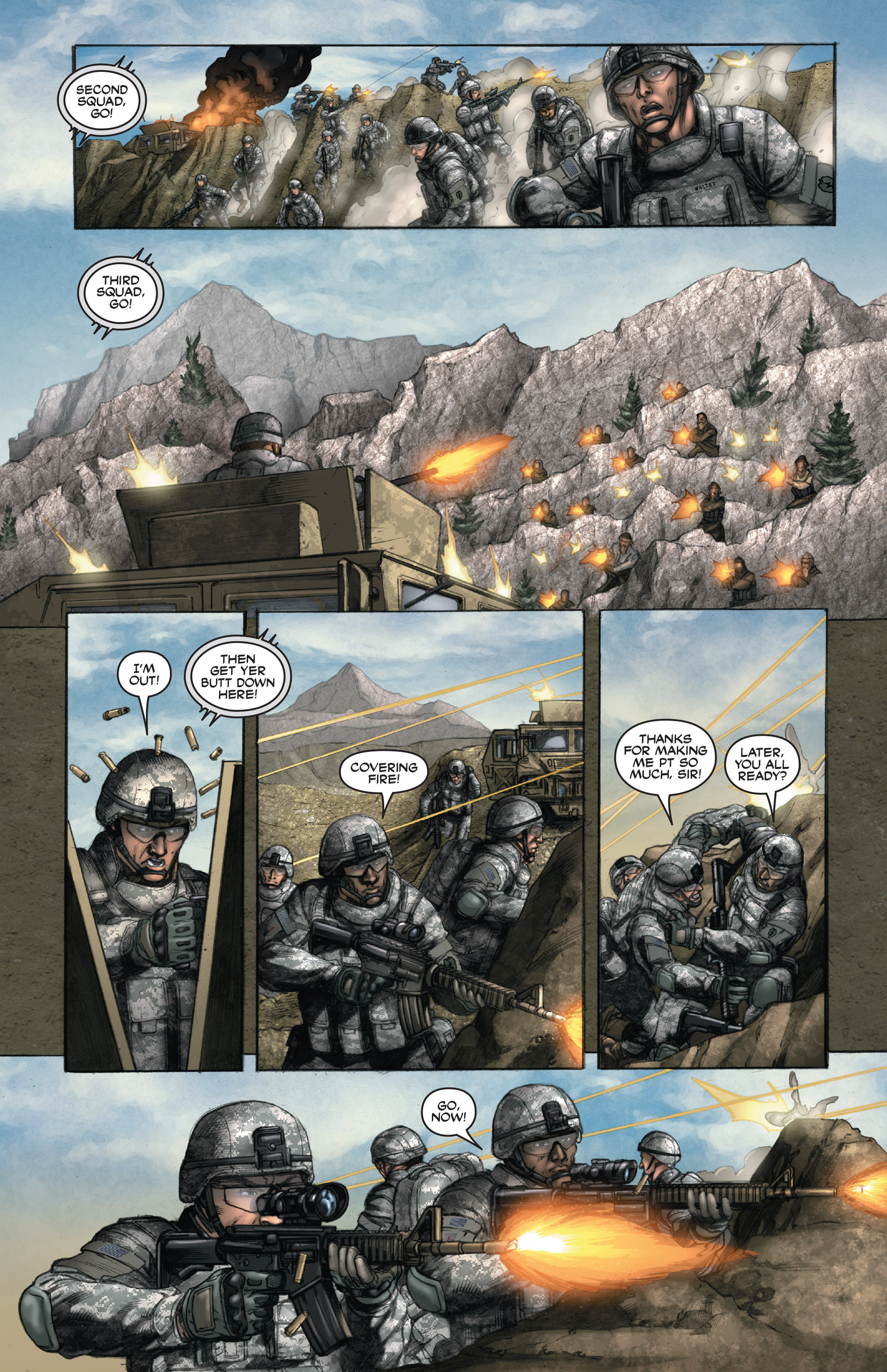 Read online America's Army comic -  Issue #14 - 16