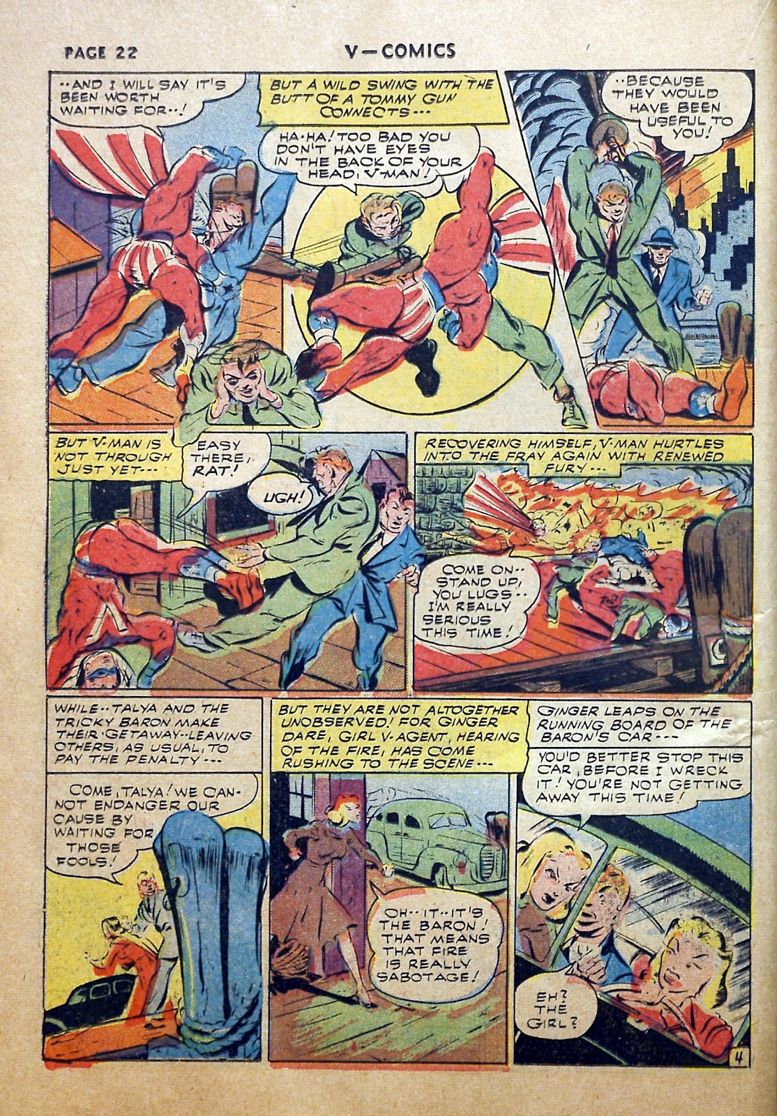 Read online V...- Comics comic -  Issue #2 - 23
