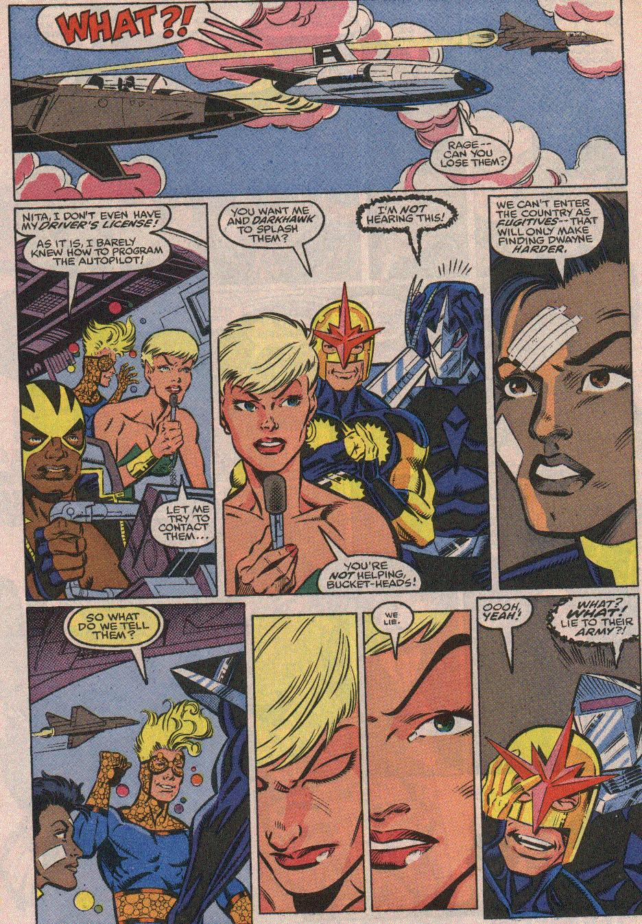 The New Warriors Issue #23 #27 - English 11