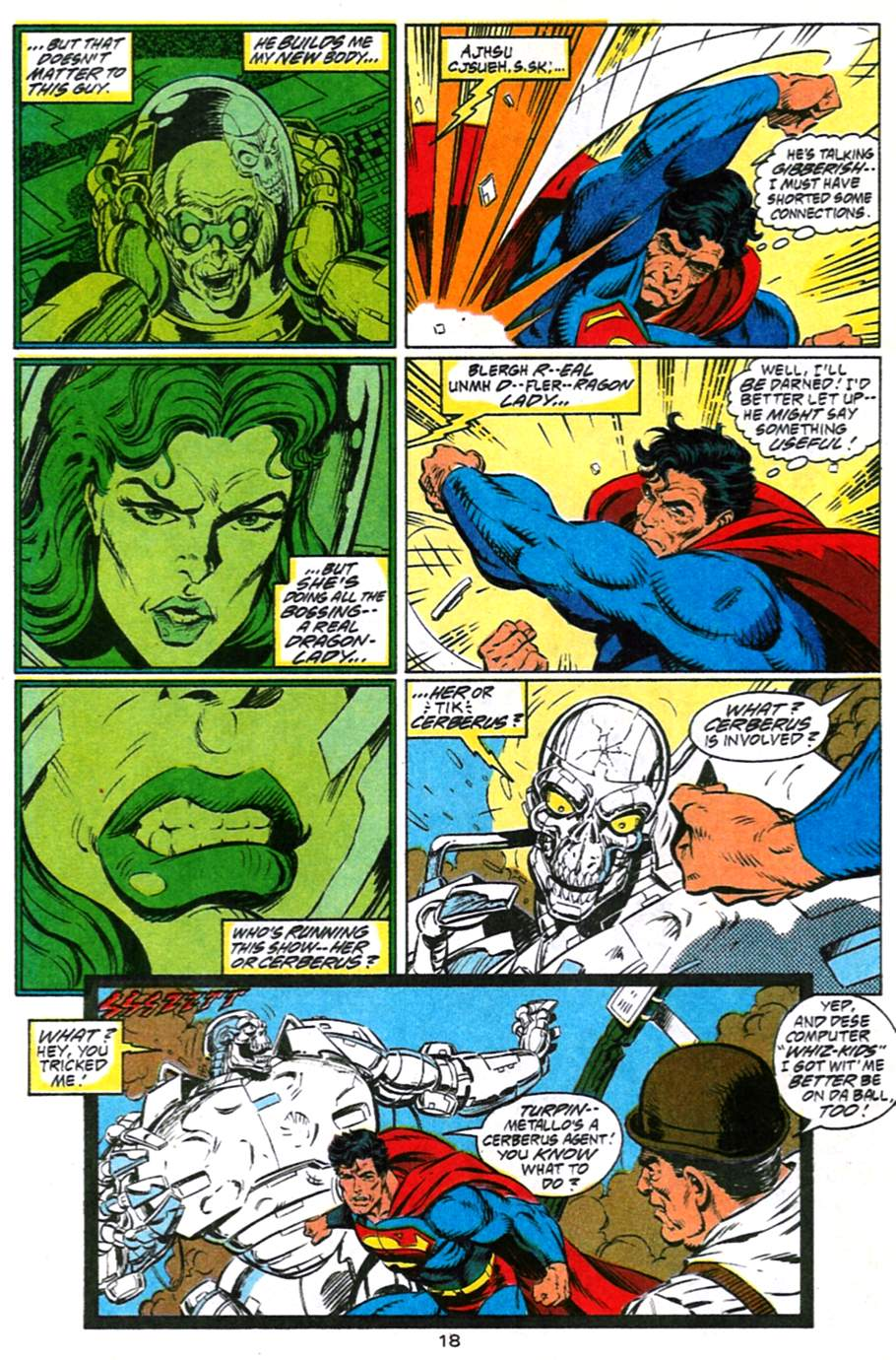 Read online Adventures of Superman (1987) comic -  Issue #491 - 19