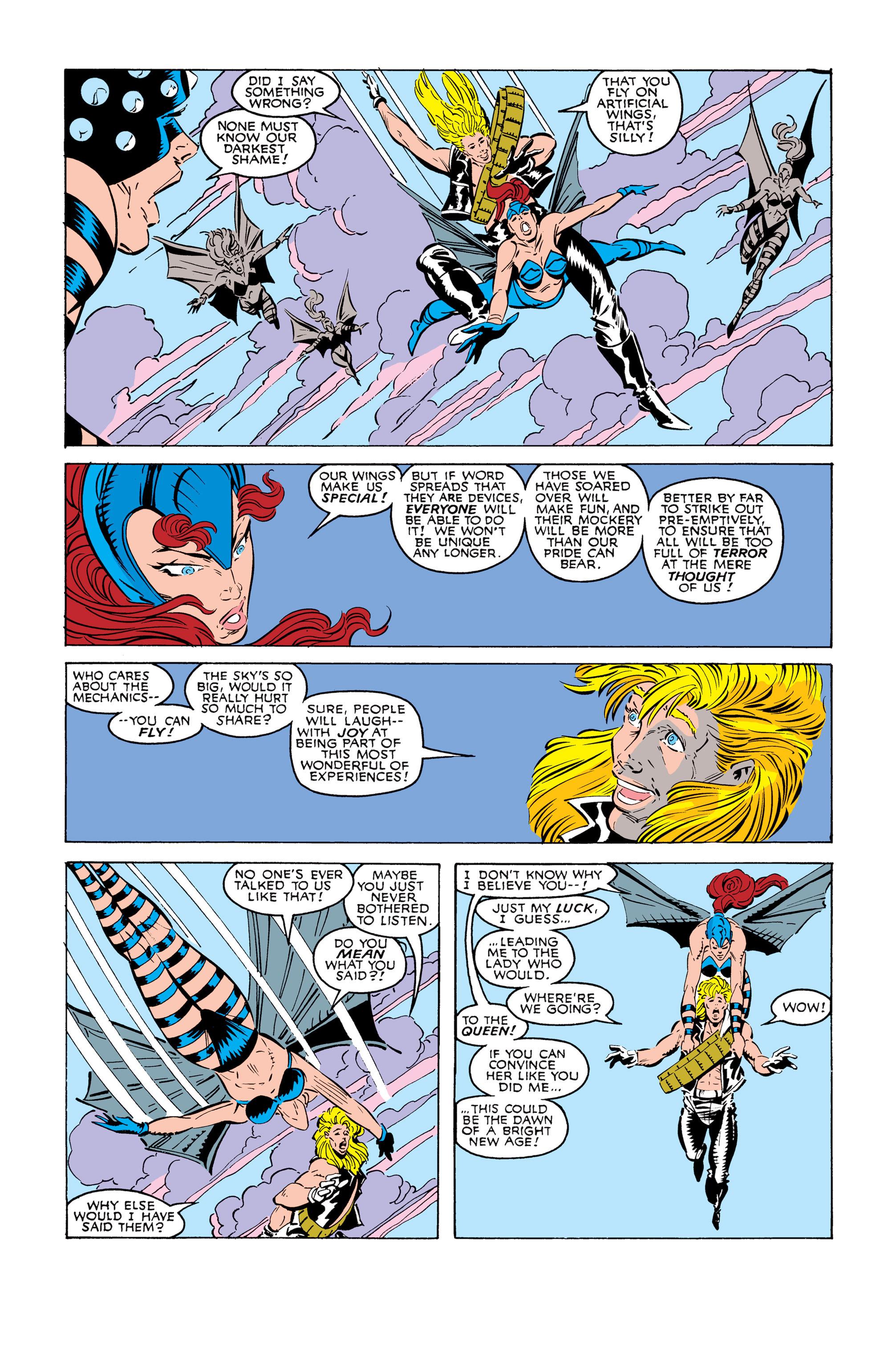 Read online Uncanny X-Men (1963) comic -  Issue #245 - 17