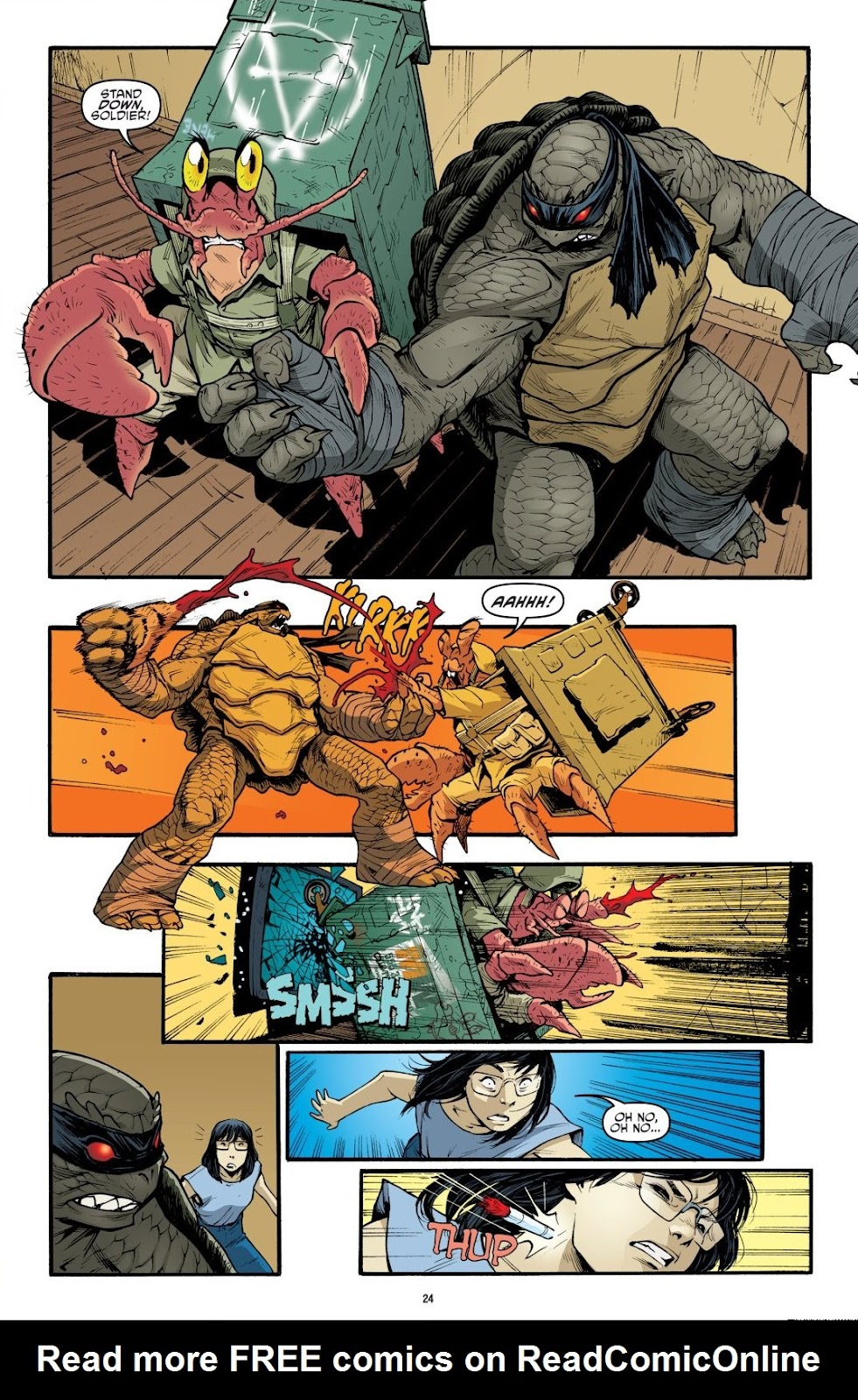 Read online Teenage Mutant Ninja Turtles: The IDW Collection comic -  Issue # TPB 9 (Part 1) - 25