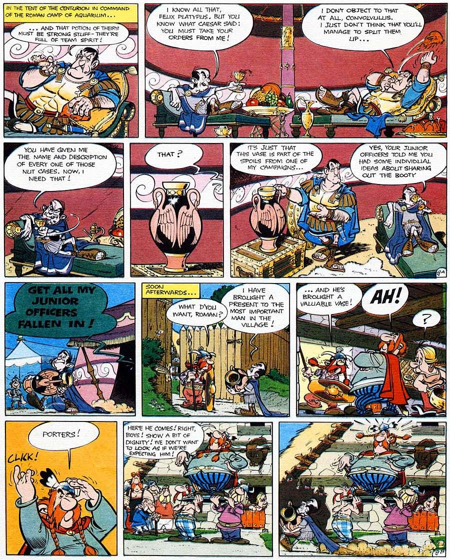 Read online Asterix comic -  Issue #15 - 14