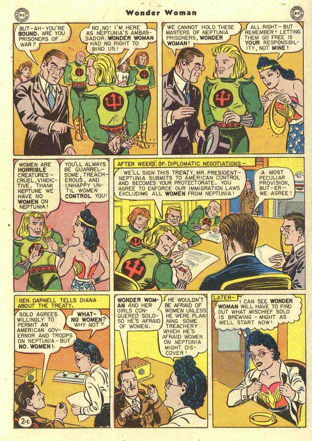 Read online Wonder Woman (1942) comic -  Issue #15 - 36