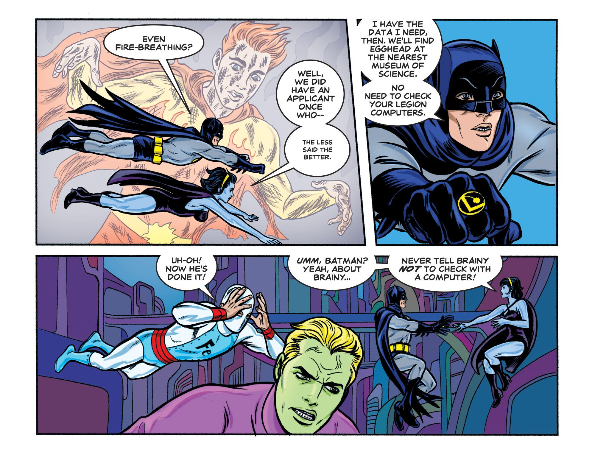 Read online Batman '66 Meets the Legion of Super-Heroes comic -  Issue #1 - 13