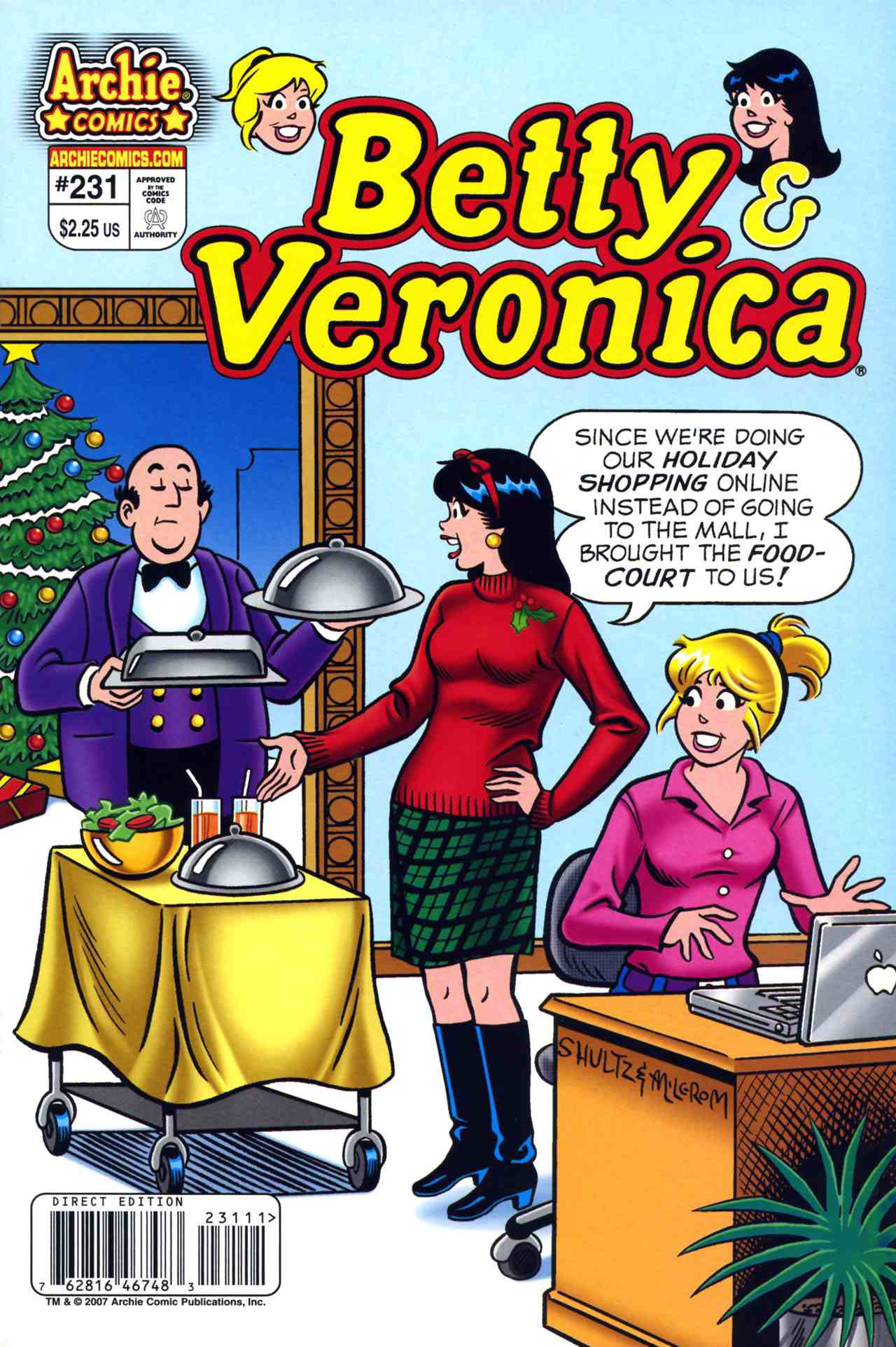Read online Archie's Girls Betty and Veronica comic -  Issue #231 - 1