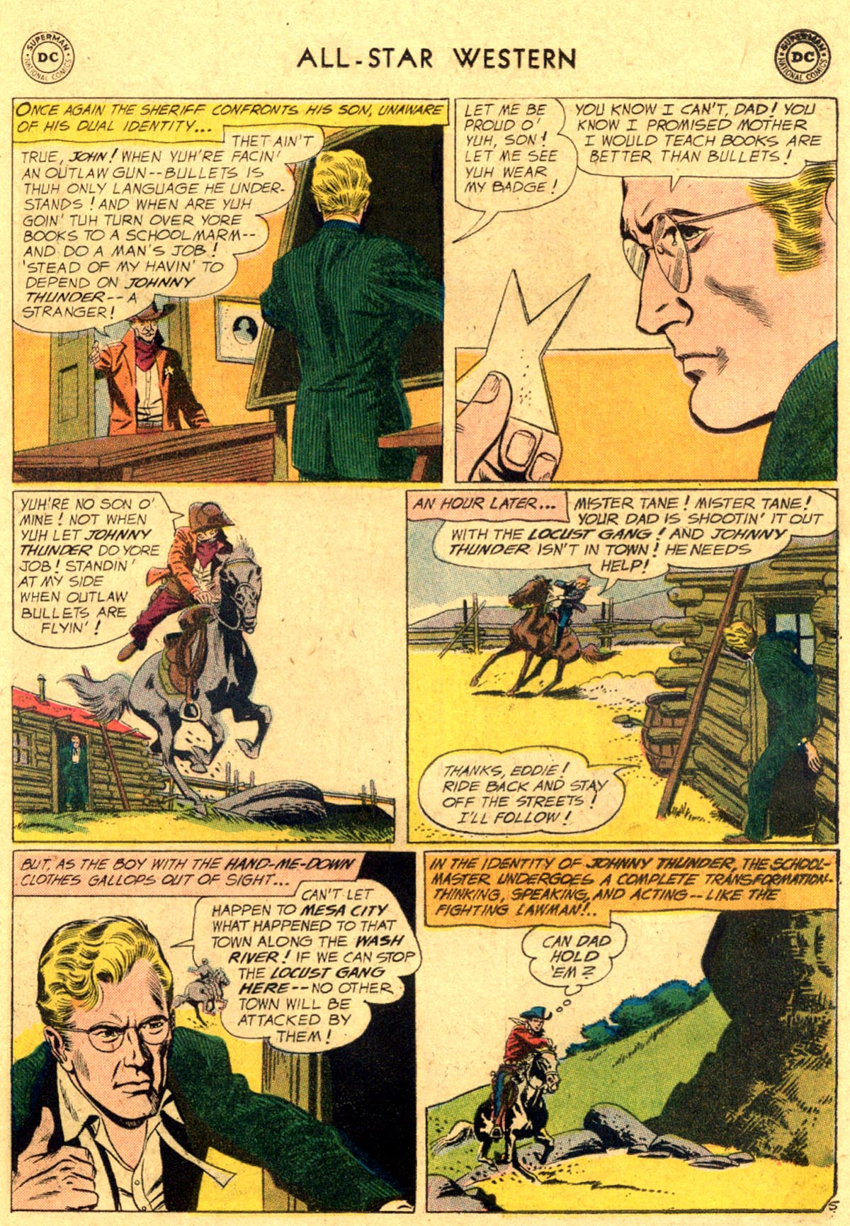 Read online All-Star Western (1951) comic -  Issue #112 - 7