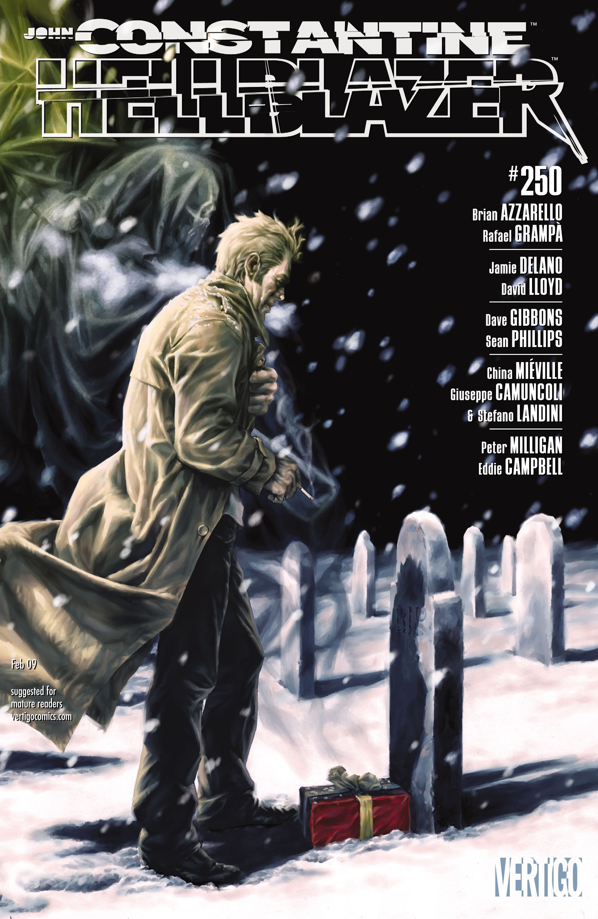 Hellblazer issue 250 - Page 1