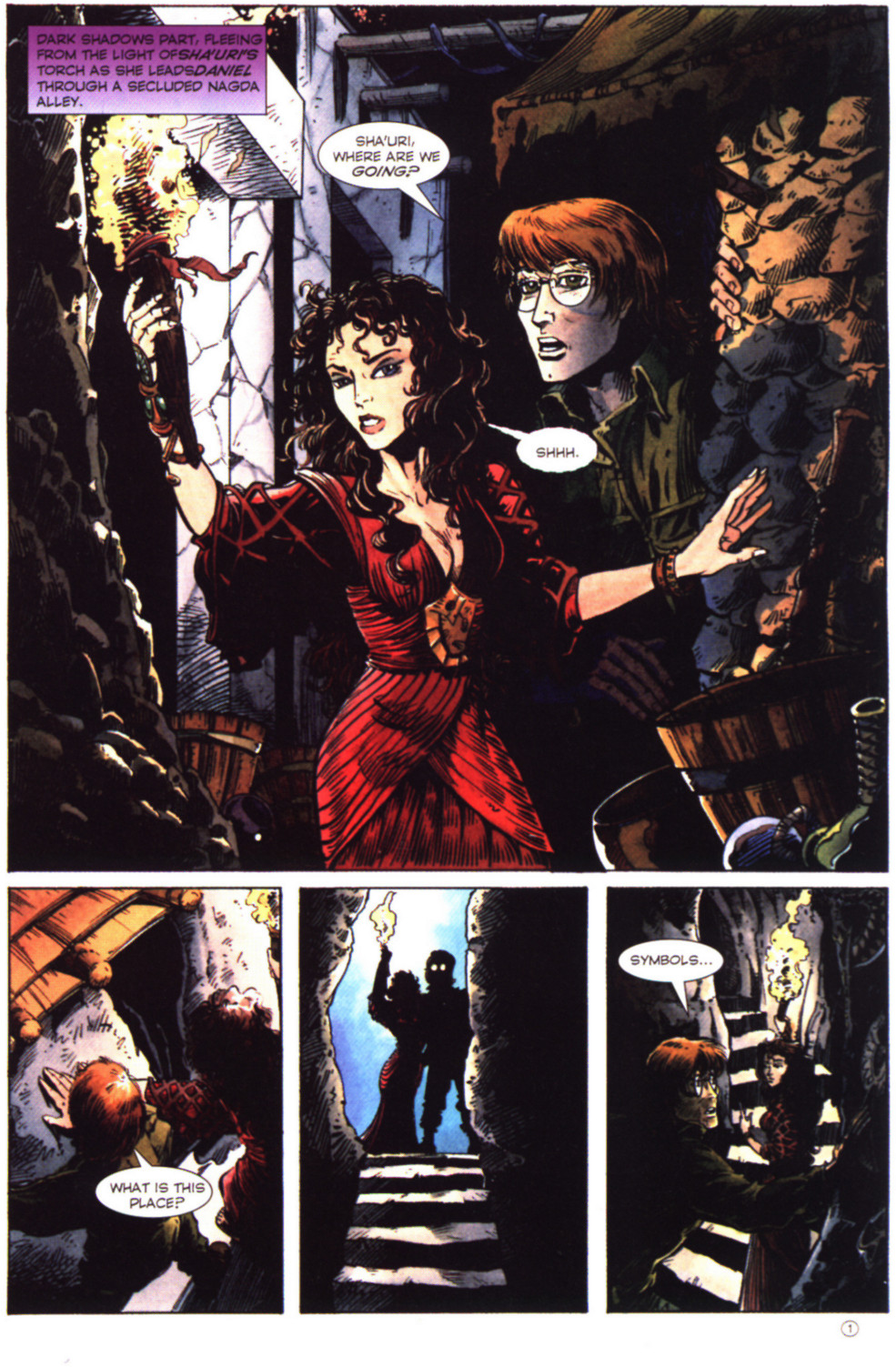Read online Stargate comic -  Issue #2 - 3