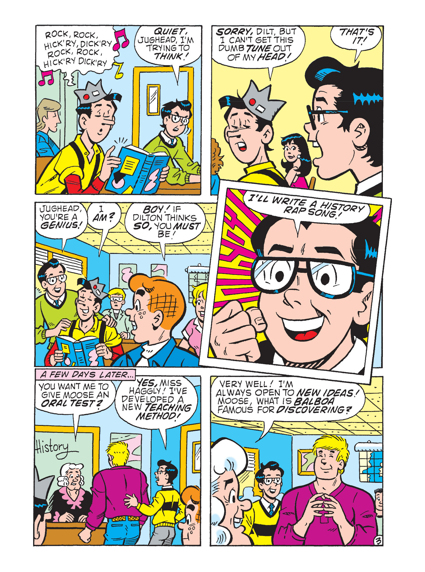 Read online Archie's Funhouse Double Digest comic -  Issue #9 - 119